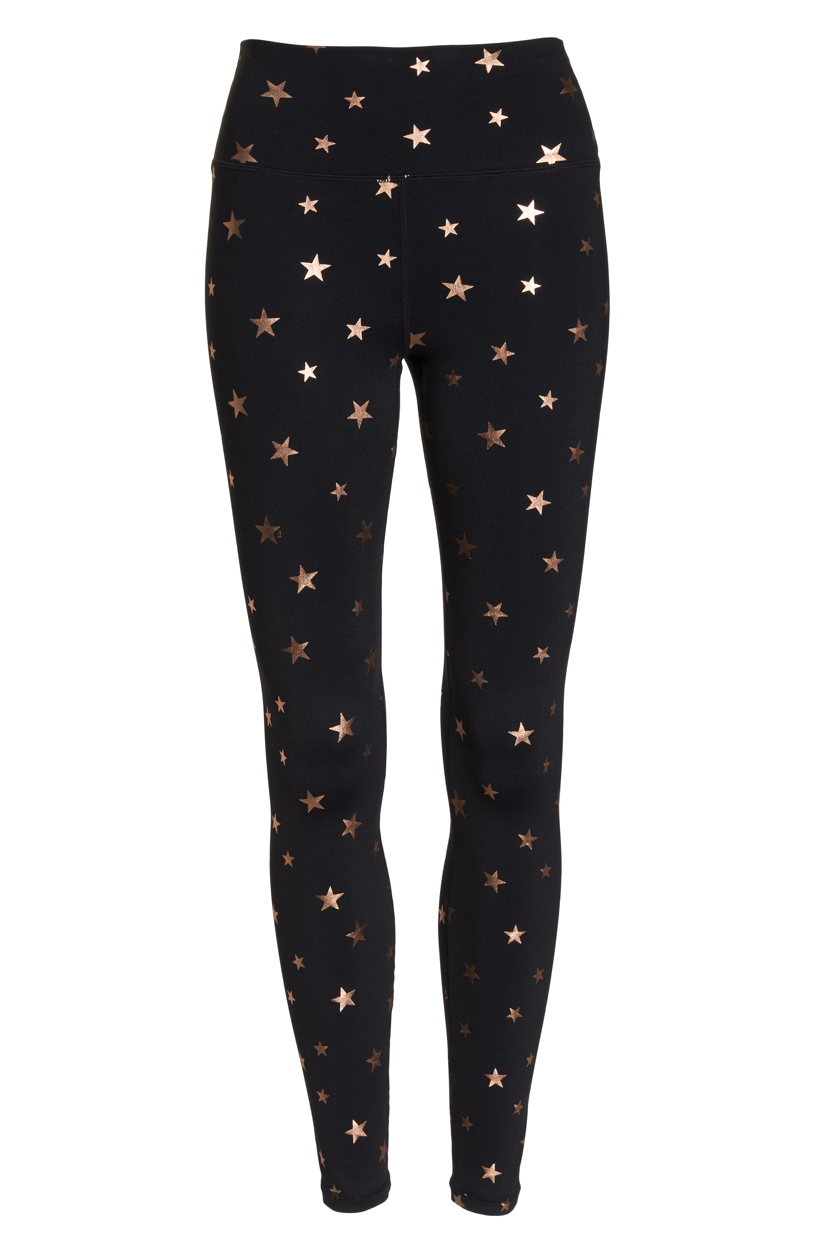 Starry Vibes Perfect High Waist Leggings,                             Alternate thumbnail 7, color,                             003
