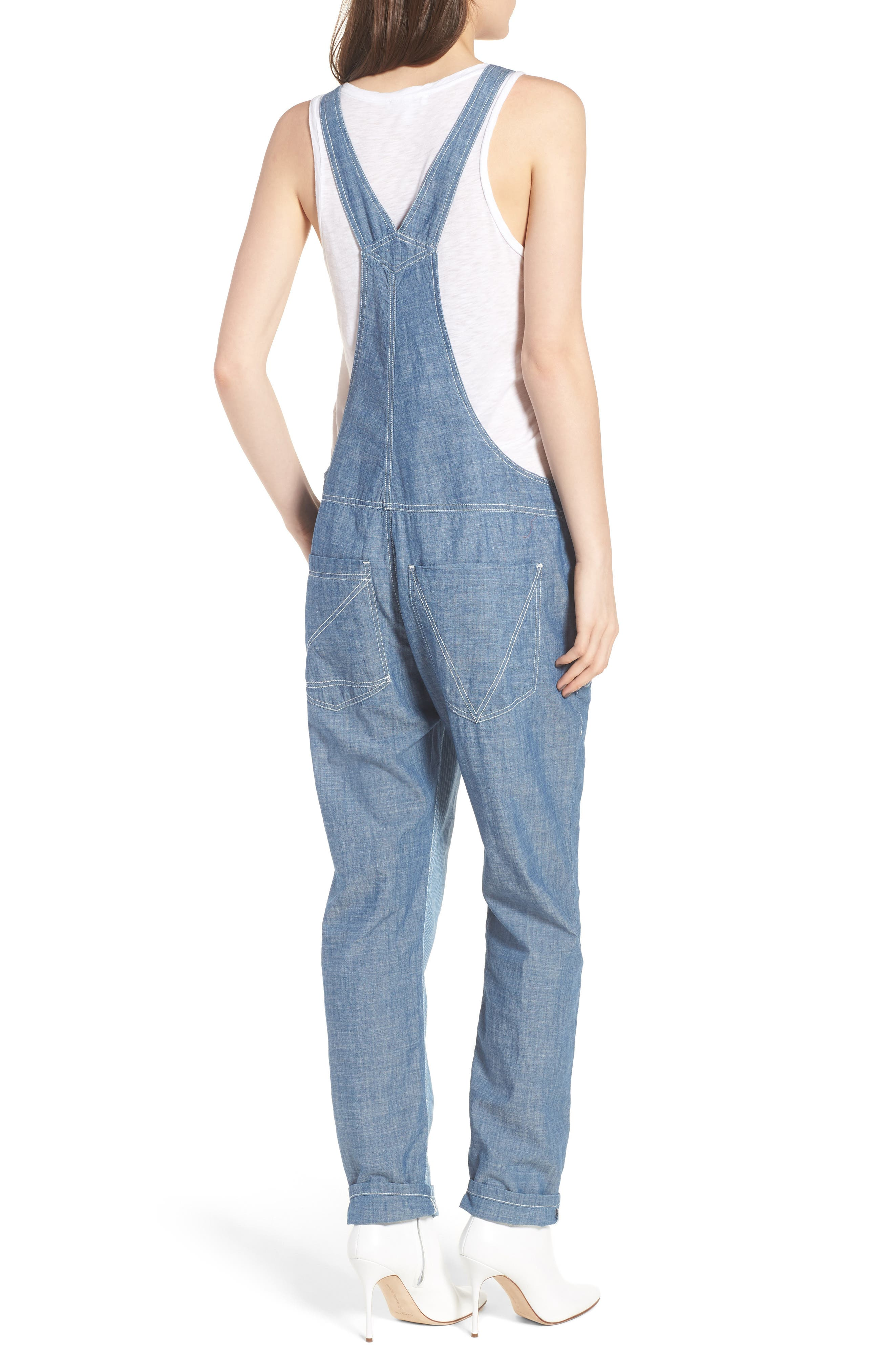 Sidney Patch Overalls,                             Alternate thumbnail 2, color,                             465