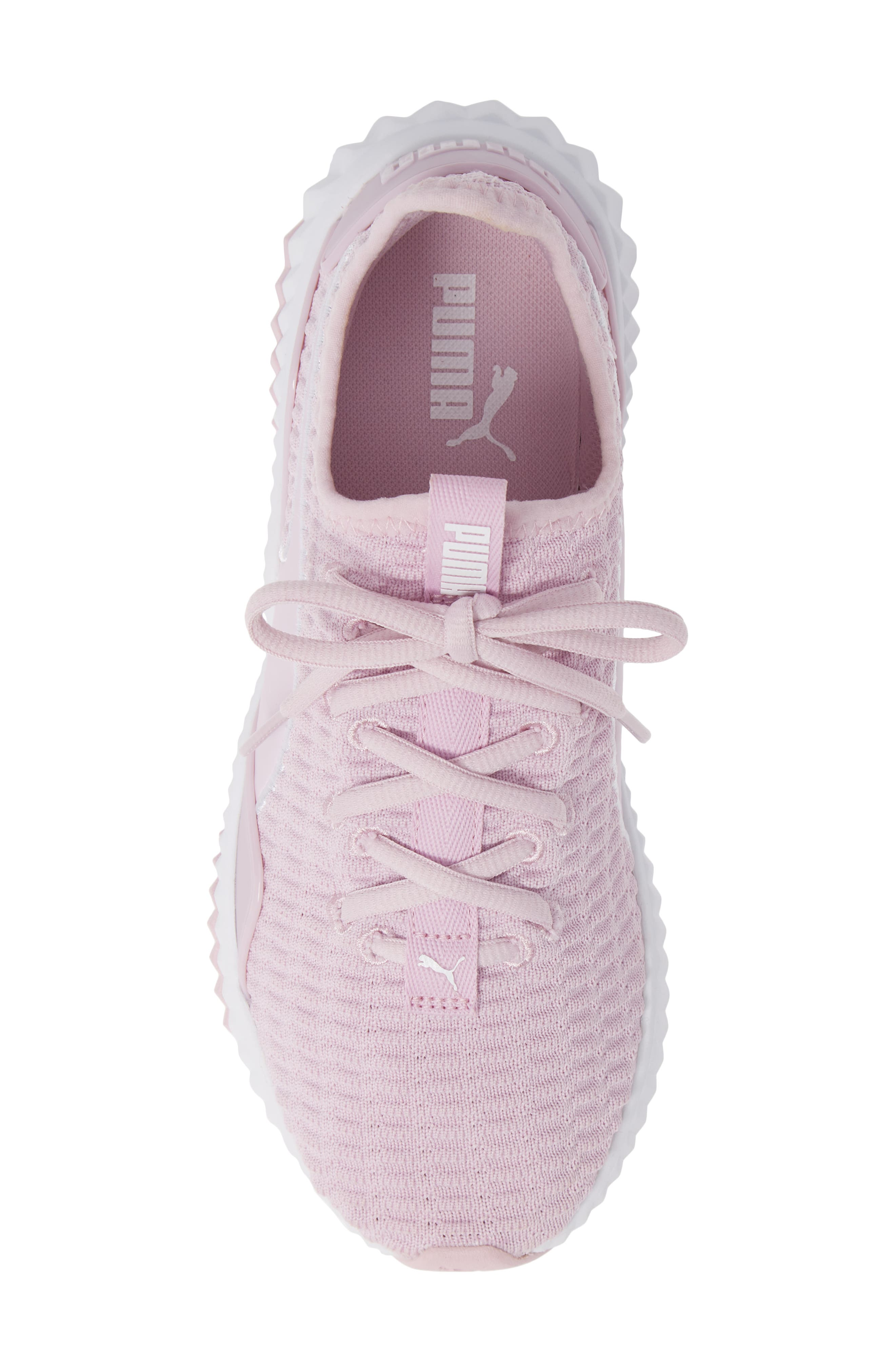 Defy Sneaker,                             Alternate thumbnail 5, color,                             WINSOME ORCHID/ PUMA WHITE