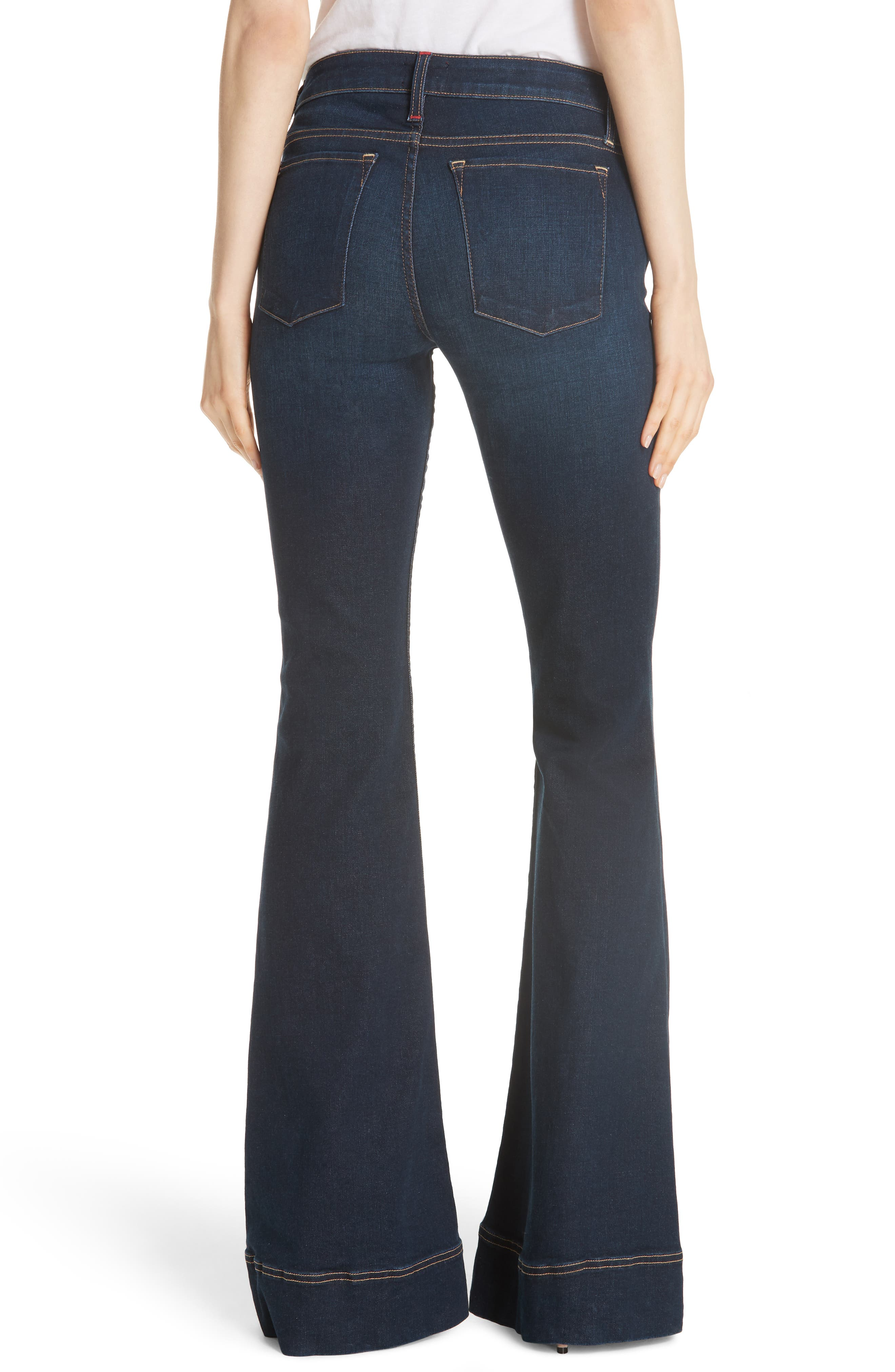 AO.LA Beautiful Bell Bottom Jeans,                             Alternate thumbnail 2, color,                             TRUST ME