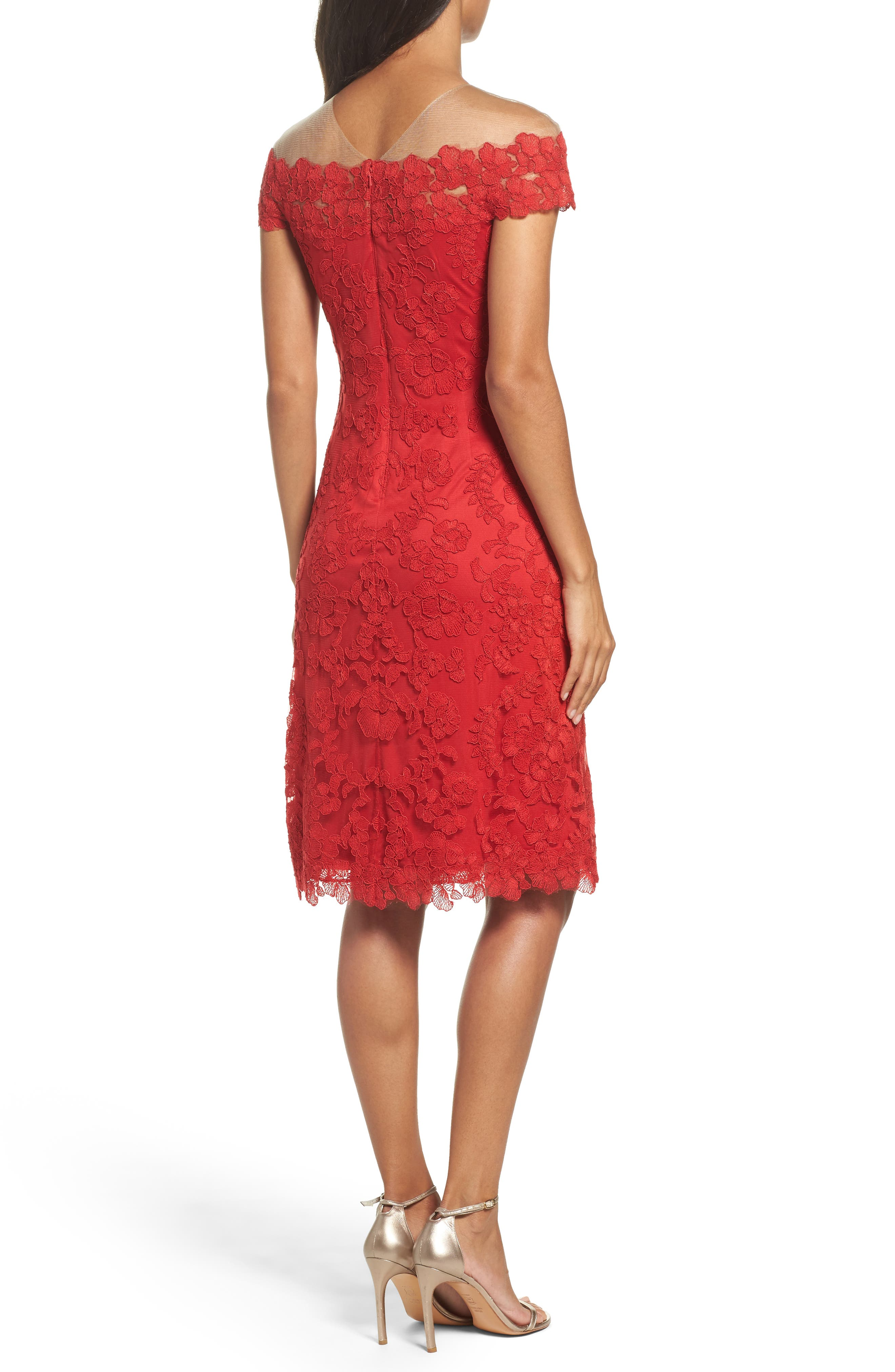 Embroidered Sheath Dress,                             Alternate thumbnail 2, color,                             611