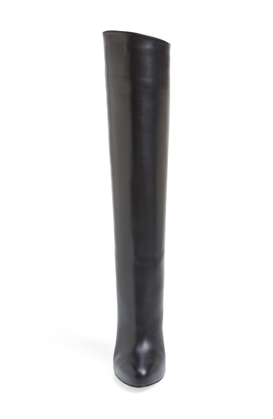'Vitish' Knee High Boot,                             Alternate thumbnail 2, color,                             001