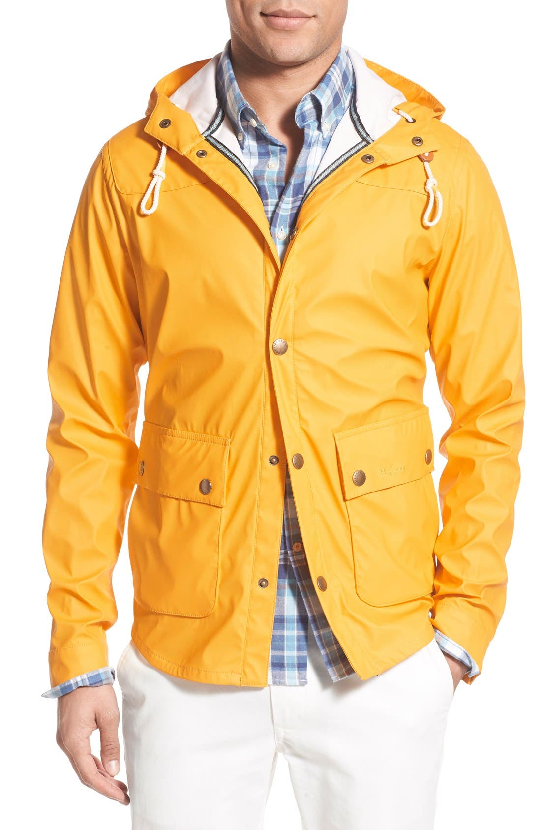 'Reelin' Slim Fit Hooded Parka, Main, color, 700