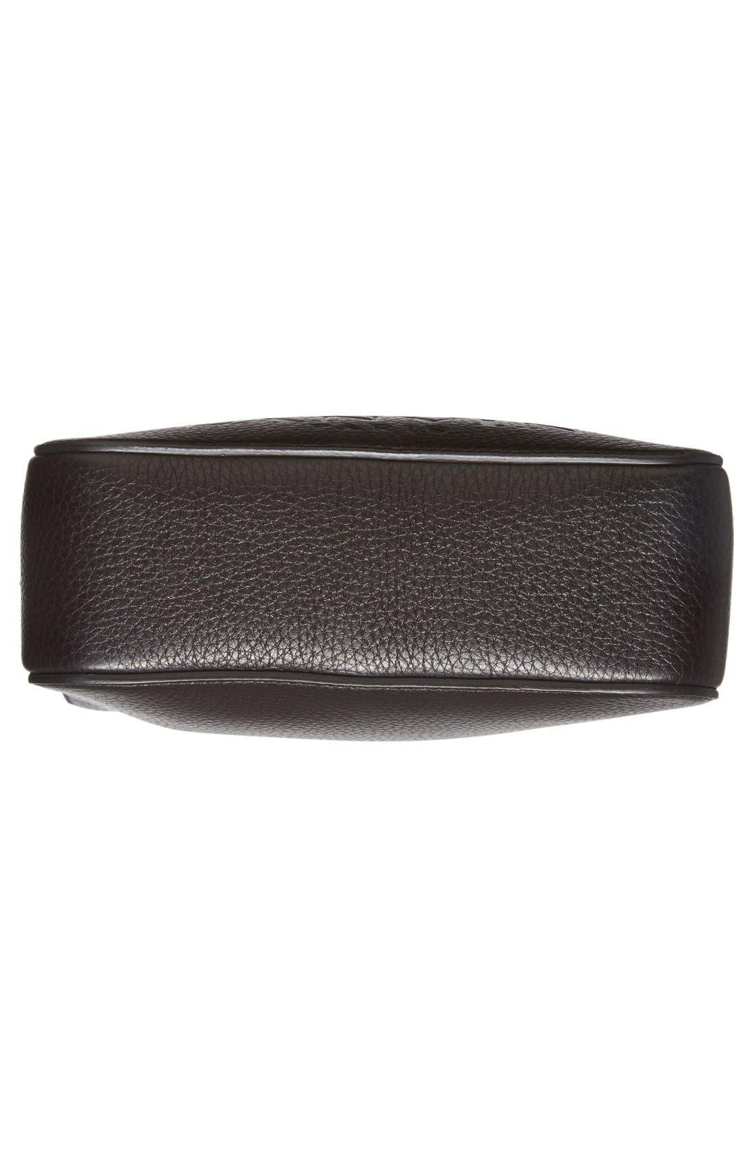 'Nomad' Leather Camera Bag,                             Alternate thumbnail 6, color,                             001
