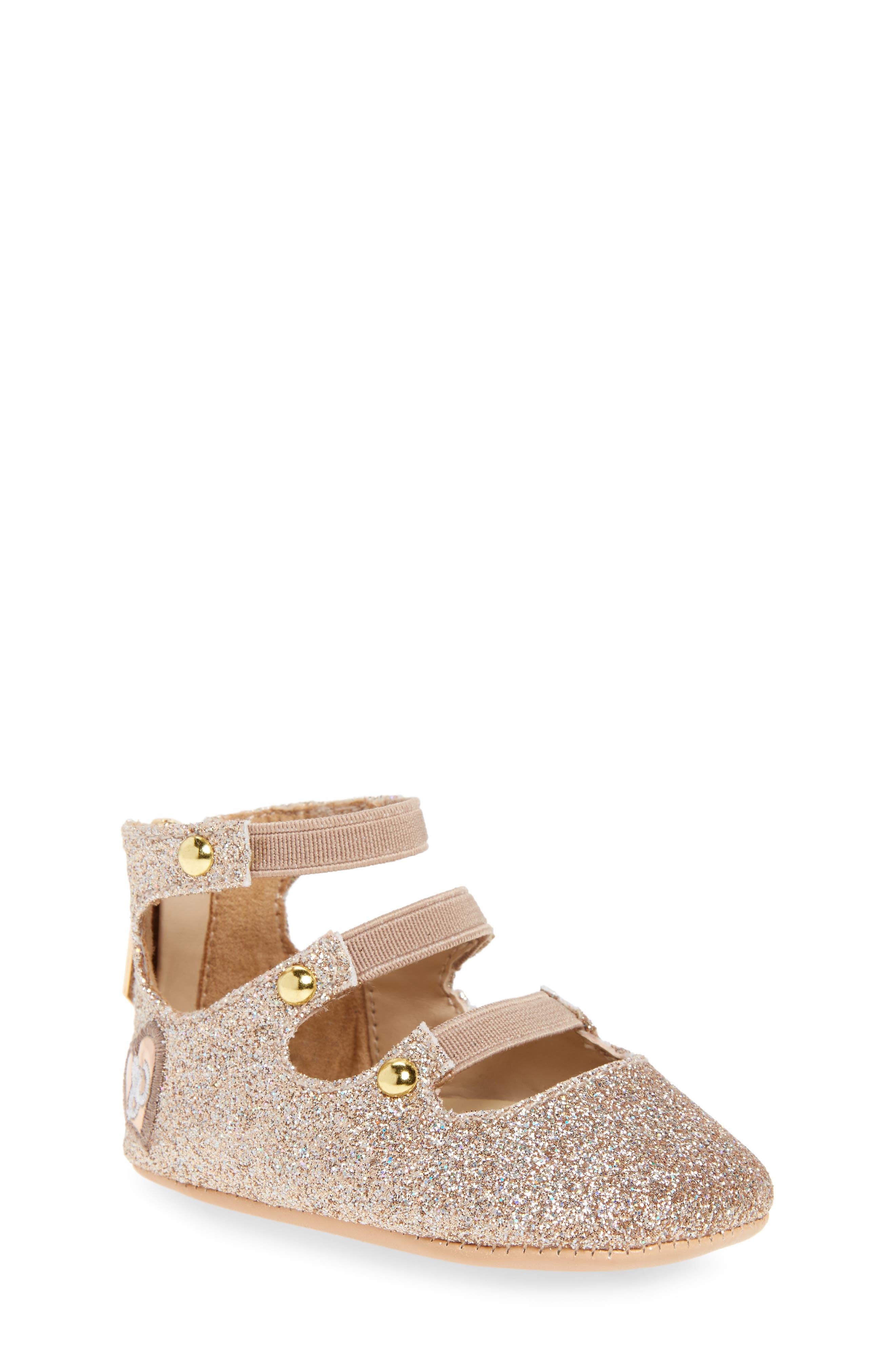 Sasha Crib Shoe,                         Main,                         color, 710