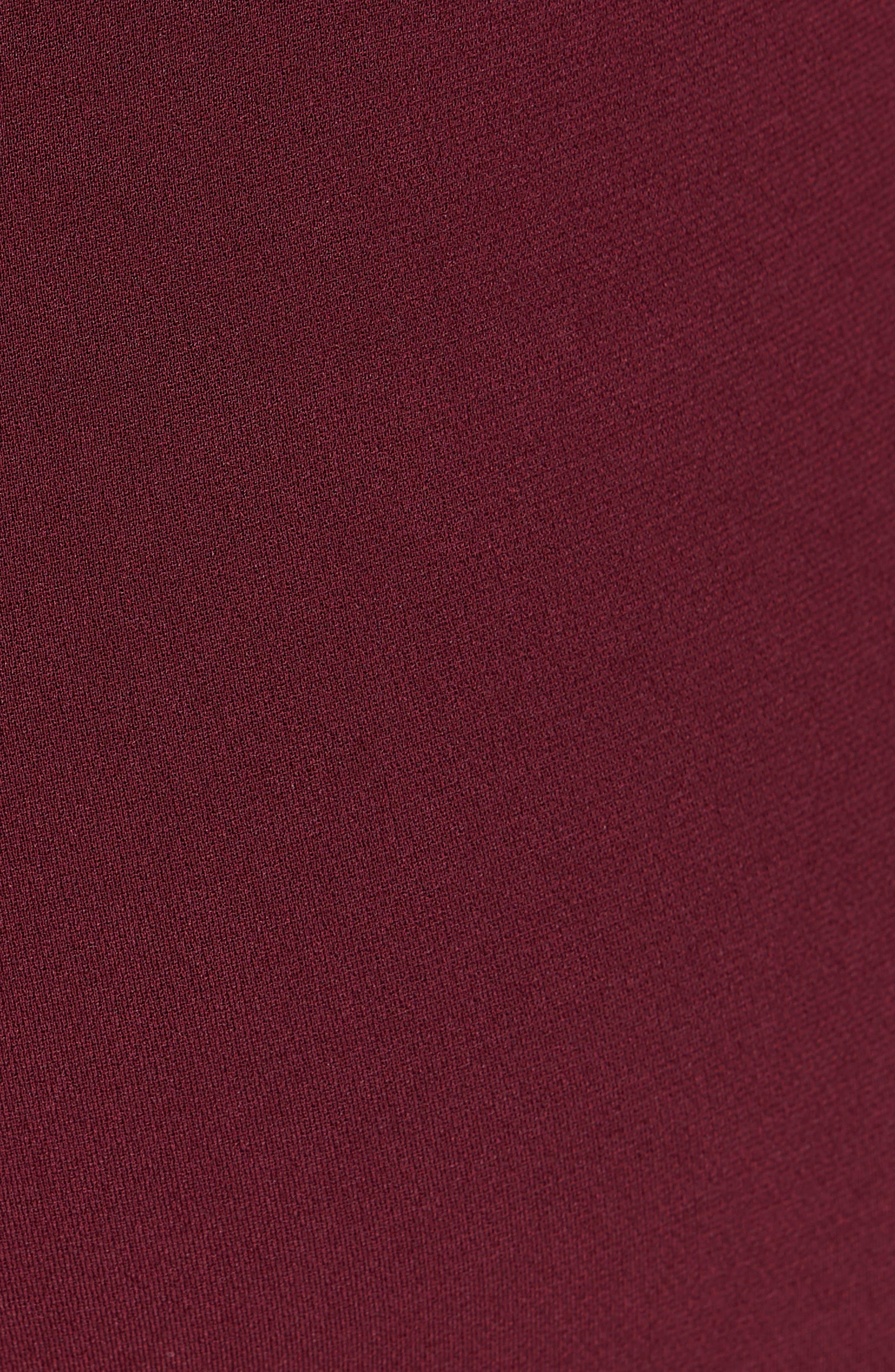 Treeca Crepe Ankle Pants,                             Alternate thumbnail 5, color,                             930