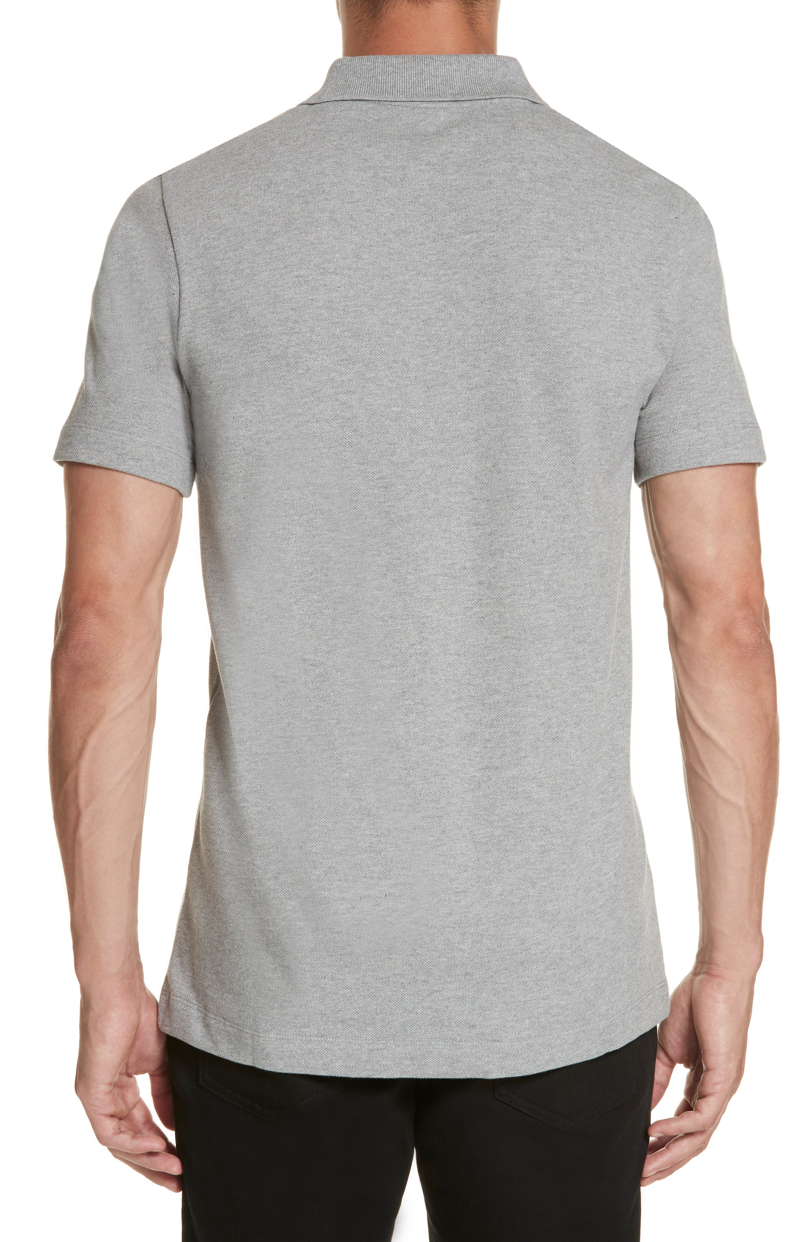 Anagram Polo,                             Alternate thumbnail 2, color,                             TRUE GREY
