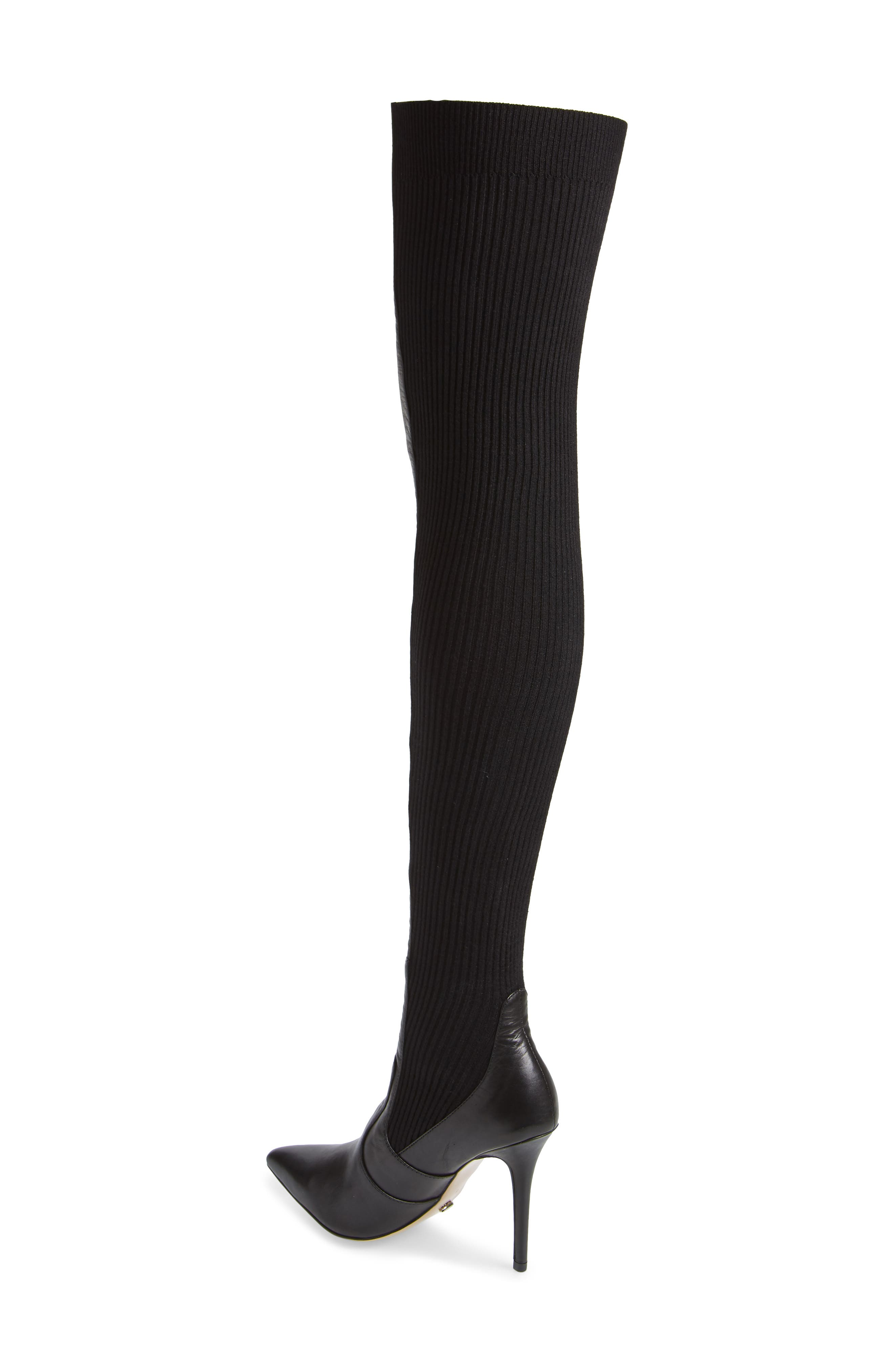 TONY BIANCO,                             Dahlia Over the Knee Boot,                             Alternate thumbnail 2, color,                             001