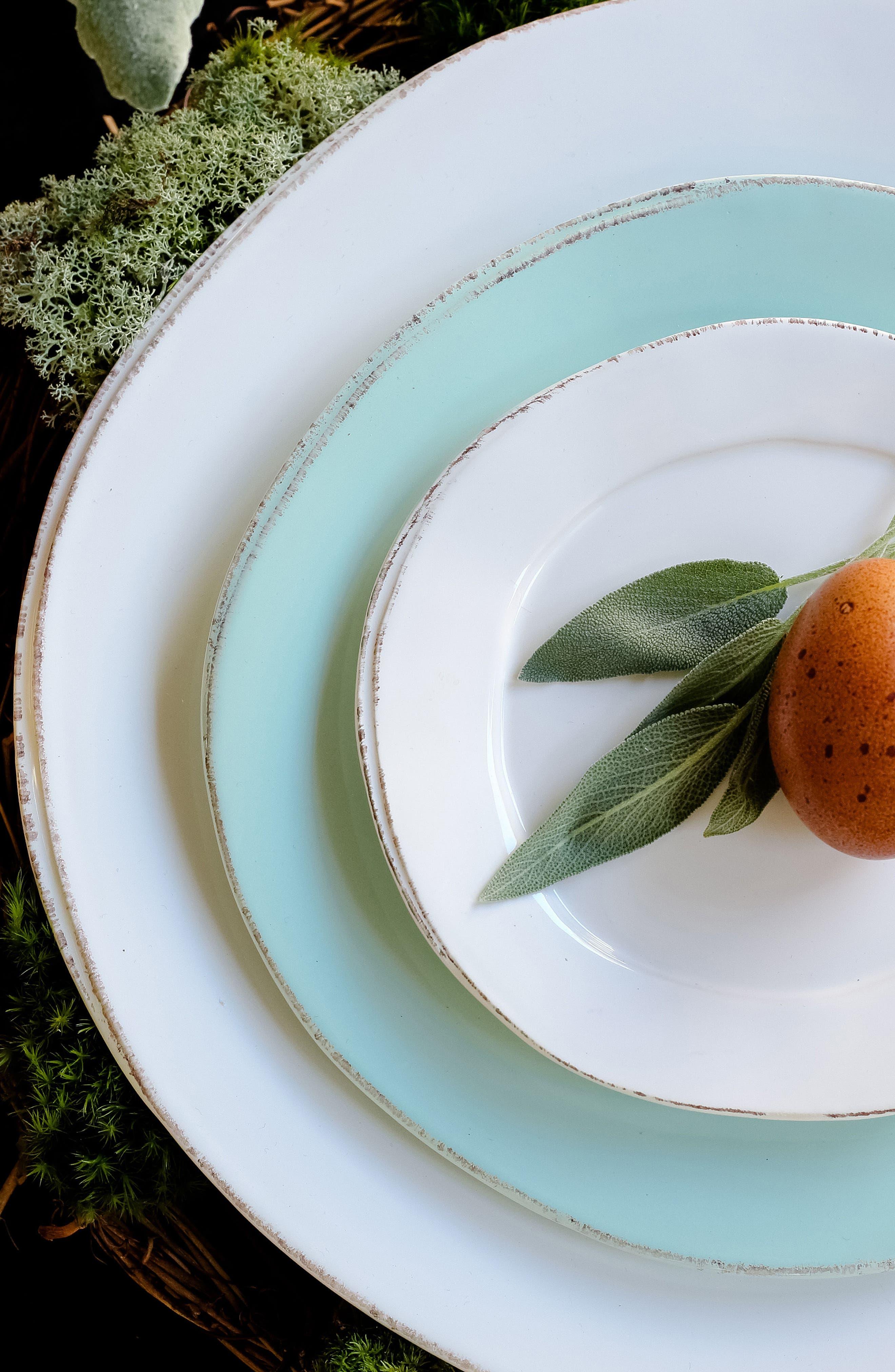 Lastra Stoneware Salad Plate,                             Alternate thumbnail 3, color,                             GRAY