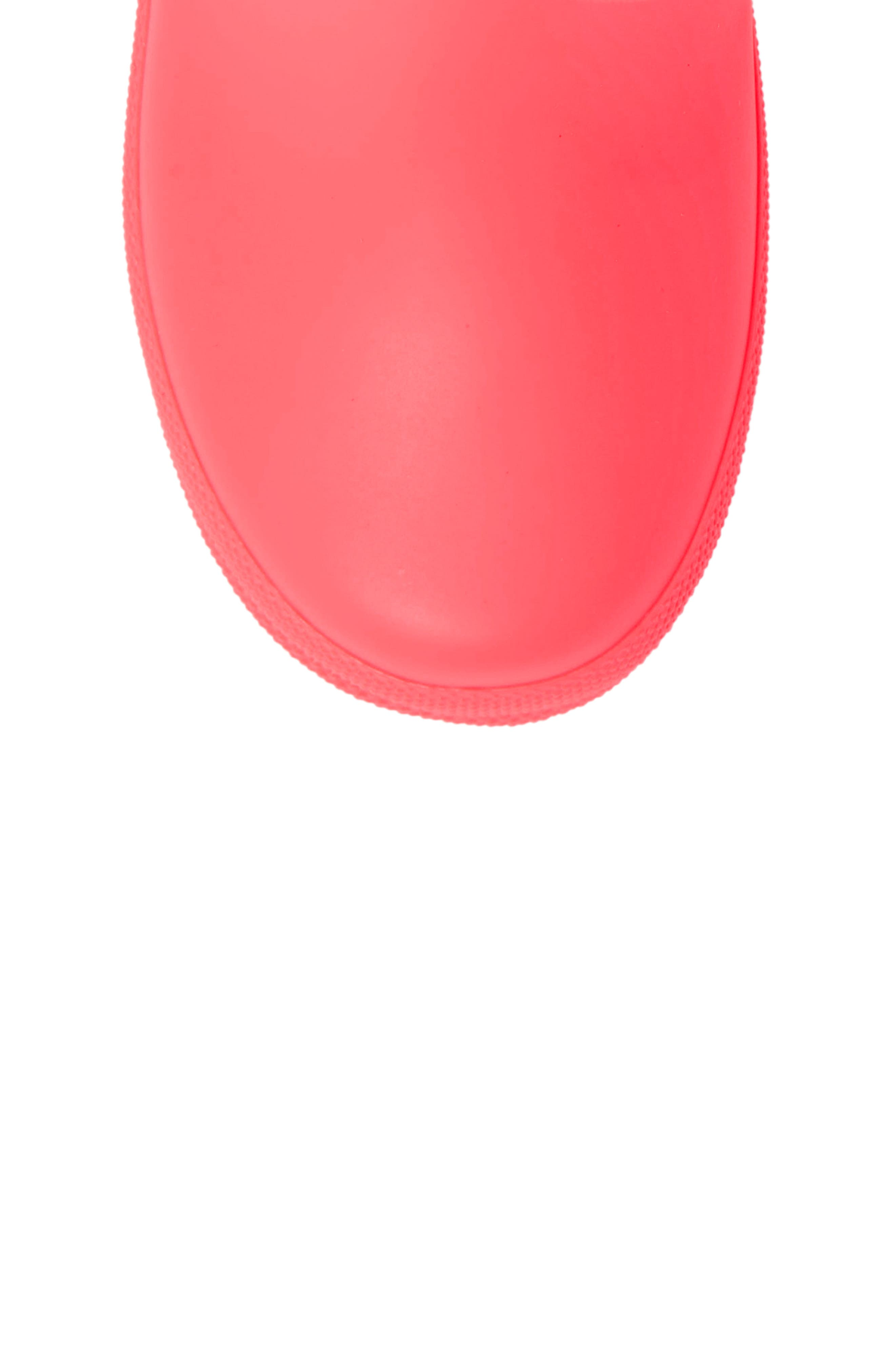 First Classic Rain Boot,                             Alternate thumbnail 5, color,                             HYPER PINK