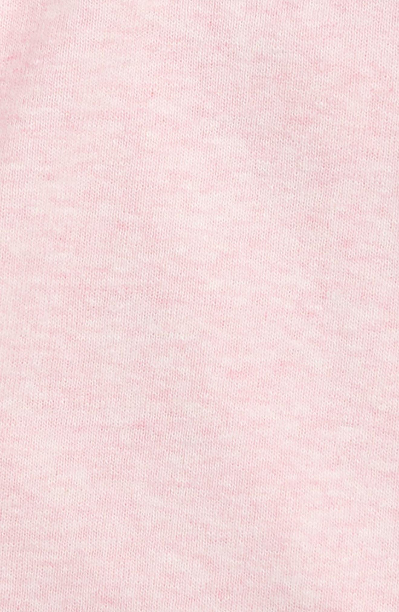 Lucky Organic Cotton Wrap Bodysuit,                             Alternate thumbnail 2, color,                             650