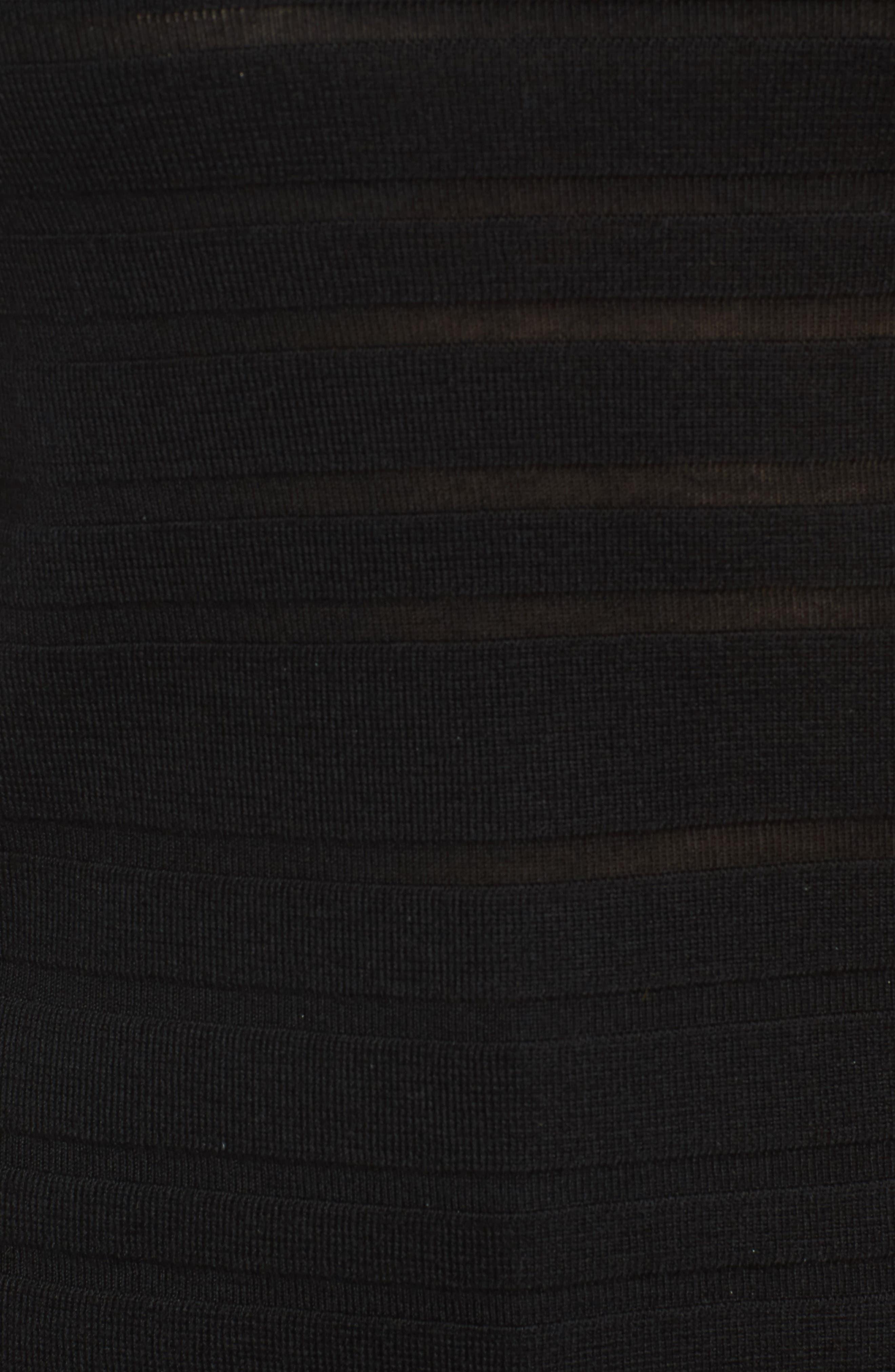 Finea Stripe Textured Wool Sweater,                             Alternate thumbnail 9, color,