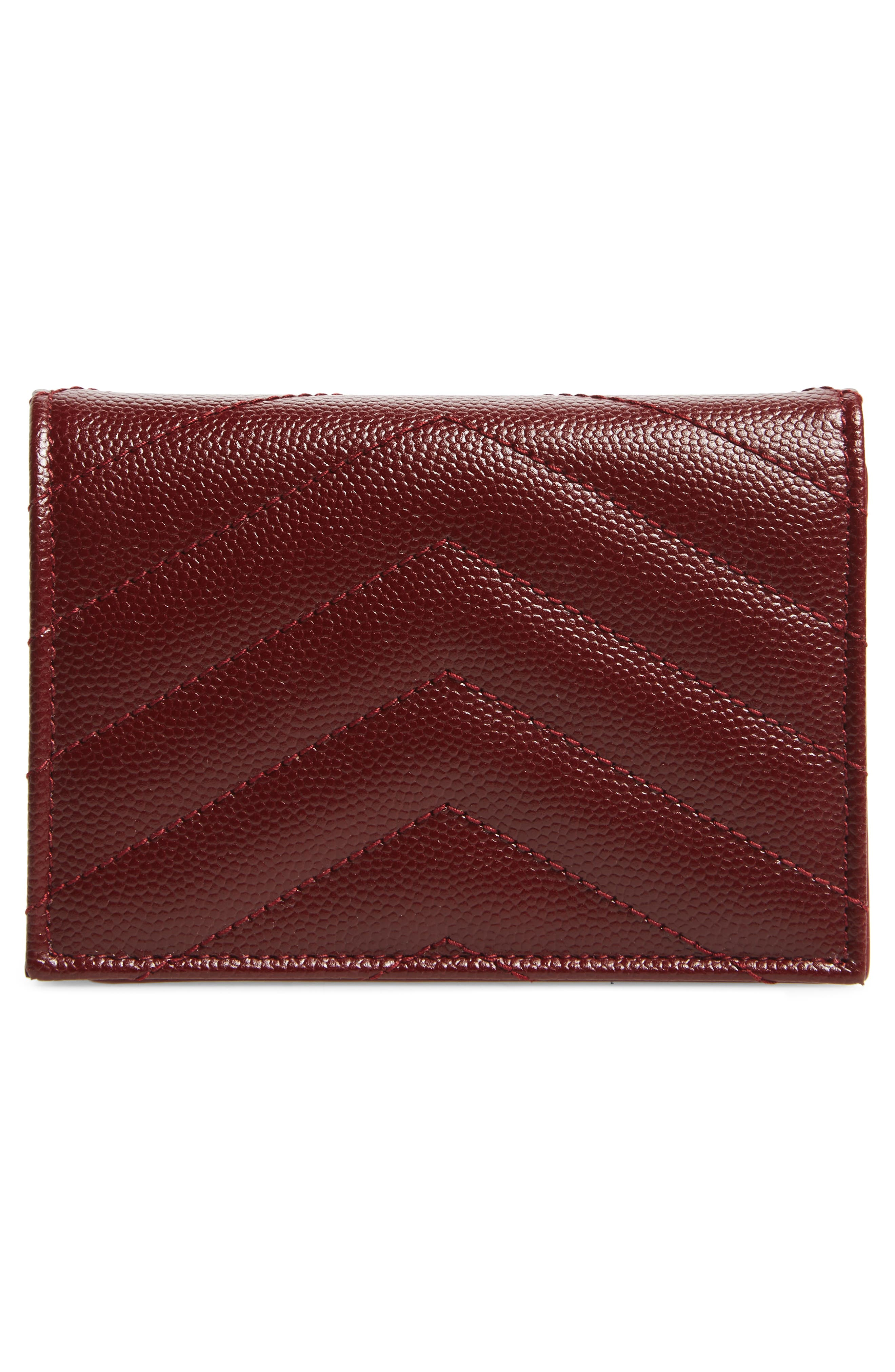Textured Leather Card Case,                             Alternate thumbnail 11, color,