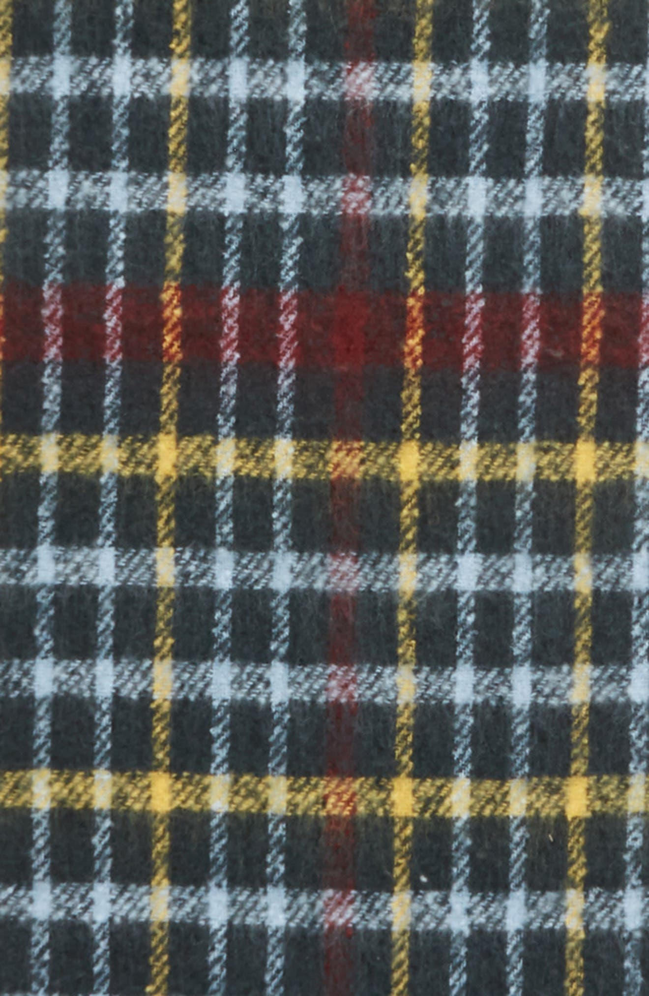 SOMETHING NAVY,                             Check Blanket Scarf,                             Alternate thumbnail 4, color,                             410