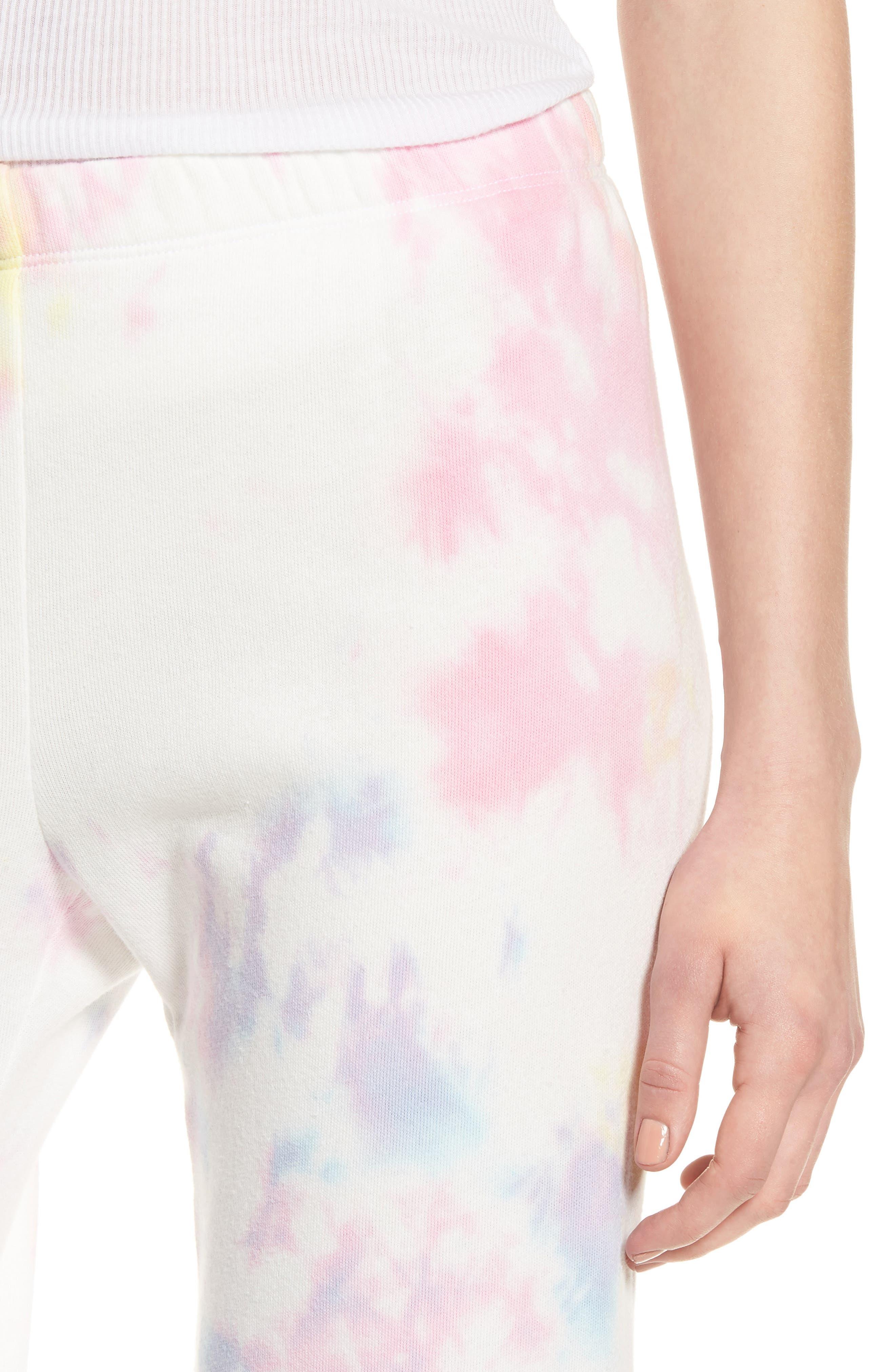 Aura Tie Dye Easy Sweatpants,                             Alternate thumbnail 4, color,                             660