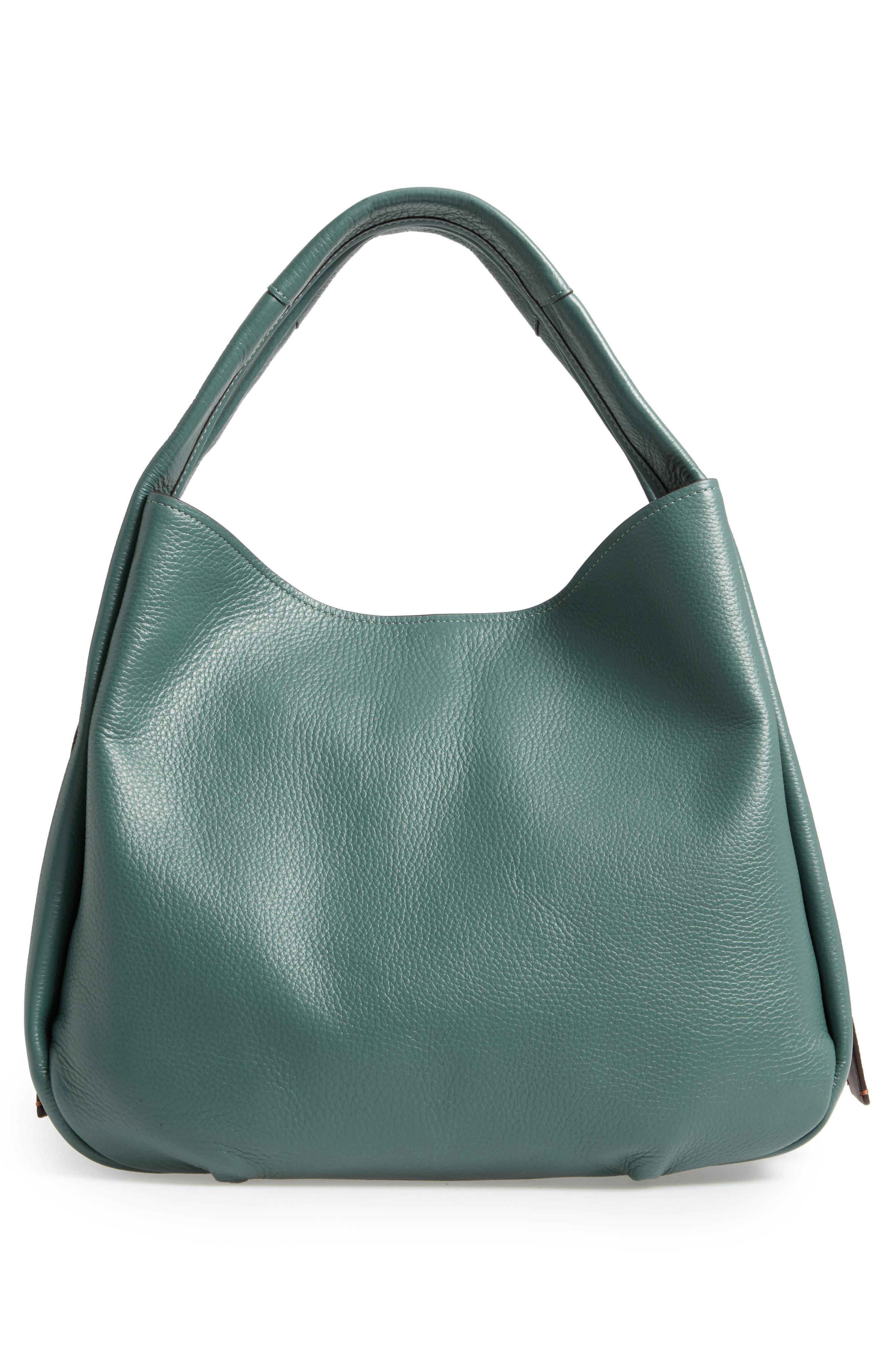 Bandit Leather Hobo & Removable Shoulder Bag,                             Alternate thumbnail 3, color,                             313