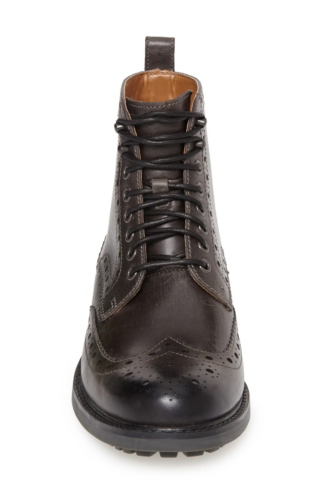 'Montacute Lord' Wingtip Boot,                             Alternate thumbnail 2, color,                             020