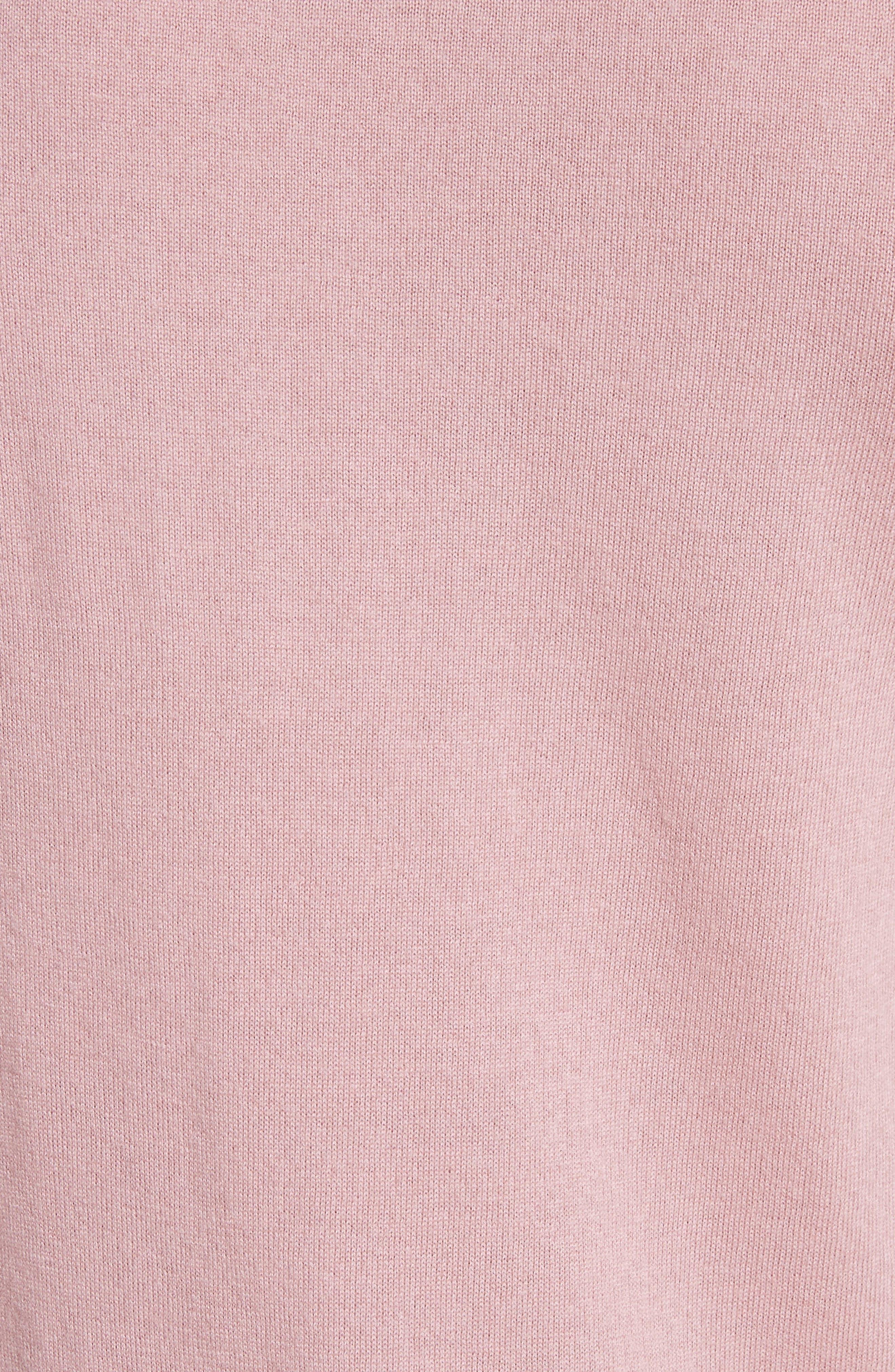 Cashmere Long Sleeve T-Shirt,                             Alternate thumbnail 5, color,
