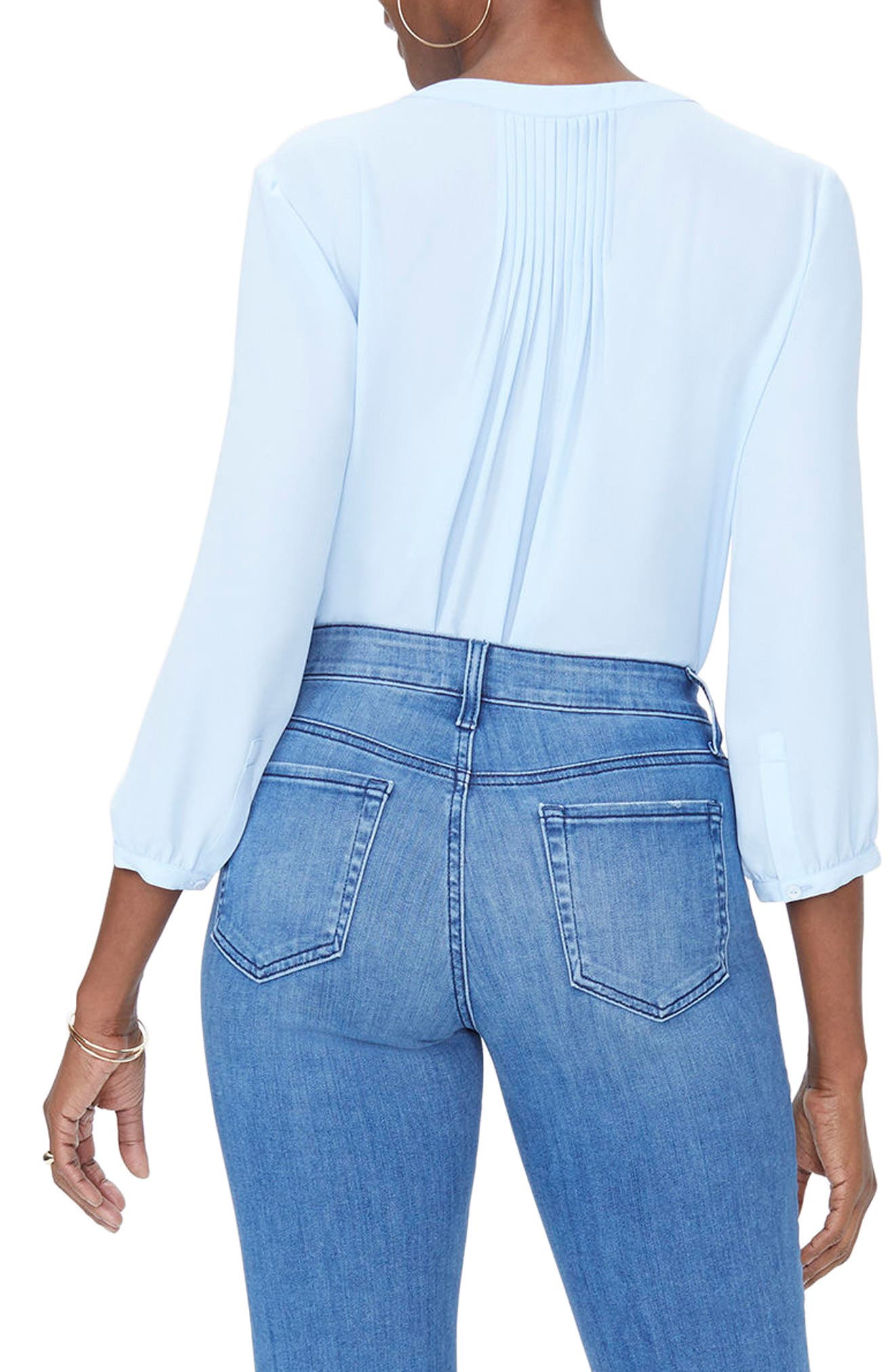 Jenna Straight Ankle Crop Jeans,                             Alternate thumbnail 2, color,
