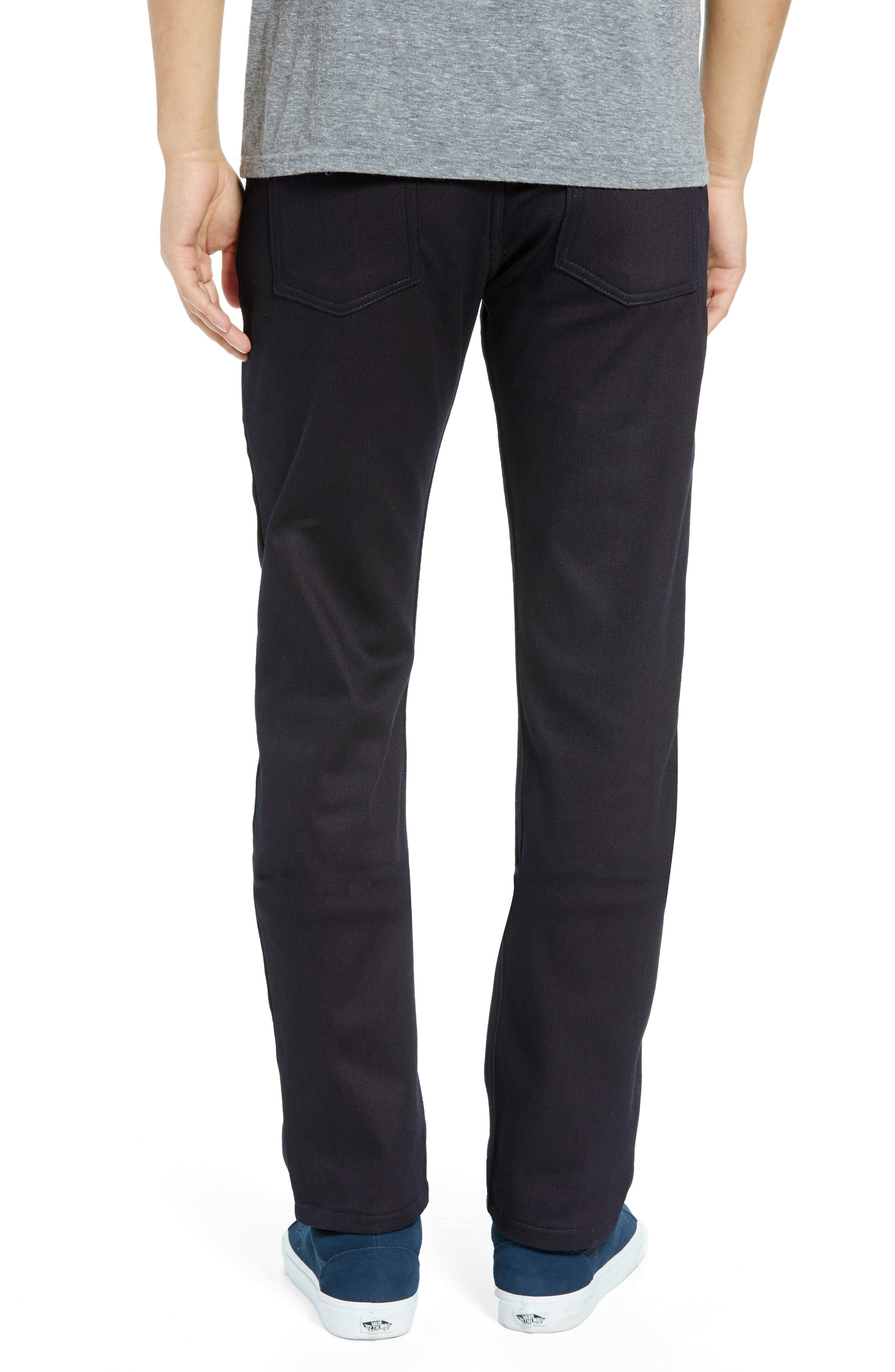 Weird Guy Slim Fit Jeans,                             Main thumbnail 1, color,                             THERMO STRETCH DENIM