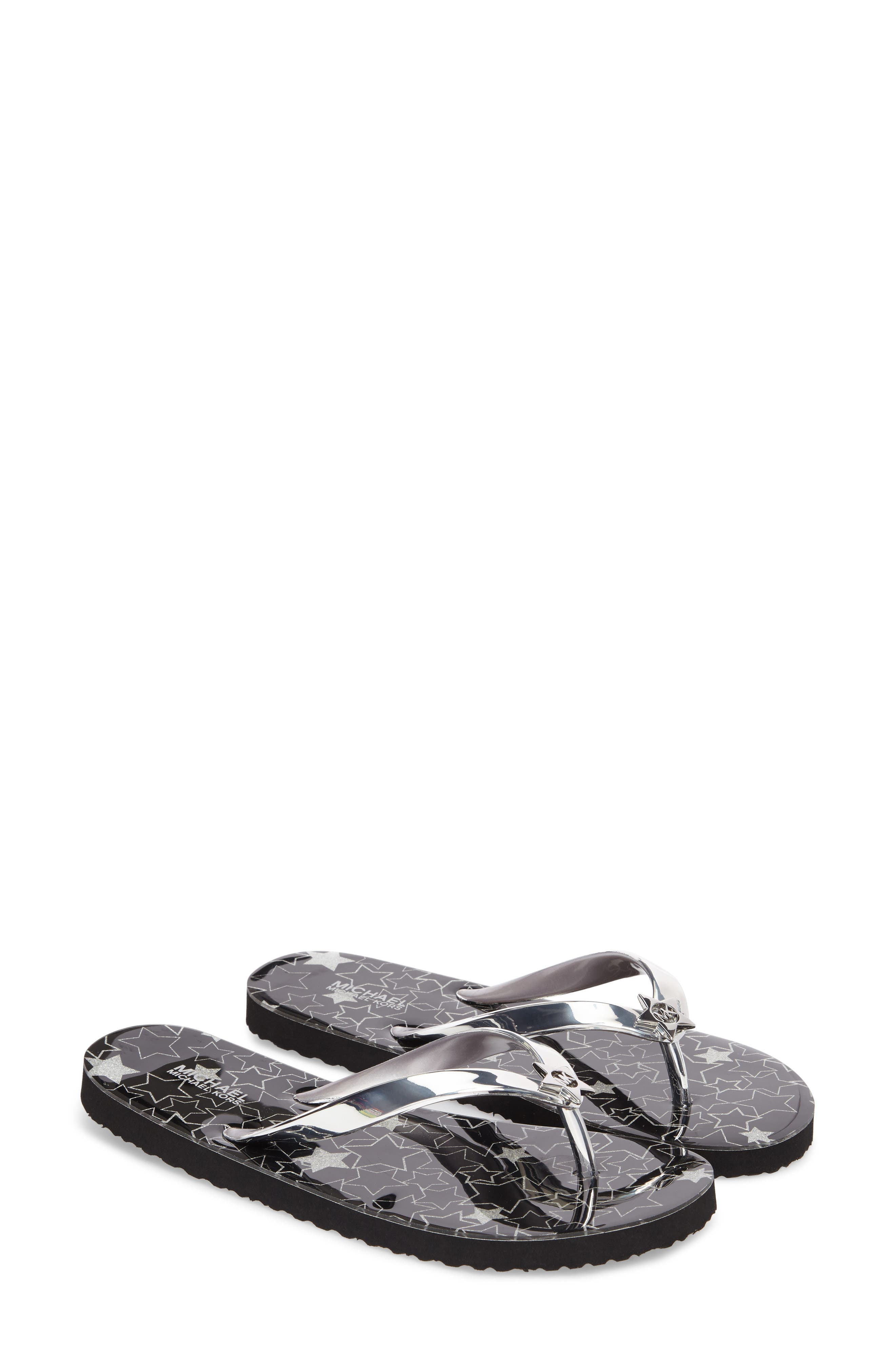MK Star Flip Flop,                             Main thumbnail 1, color,