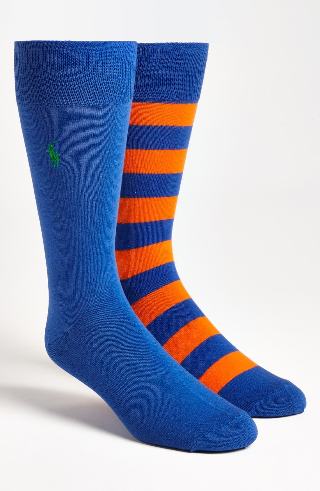 Cotton Blend Socks,                             Main thumbnail 12, color,