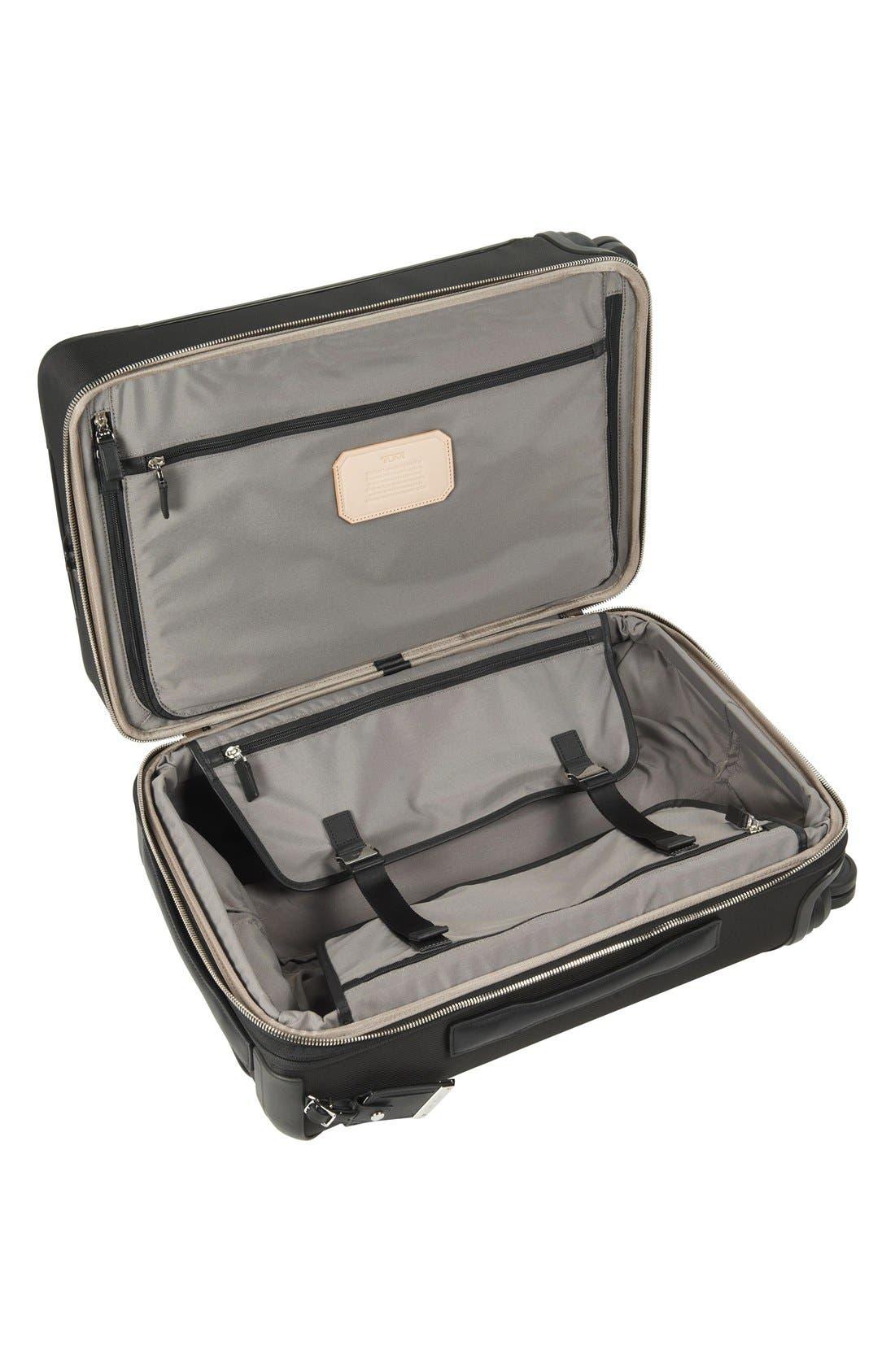 'Astor - Osborne' 4-Wheeled Carry-On Suitcase,                             Alternate thumbnail 6, color,                             001