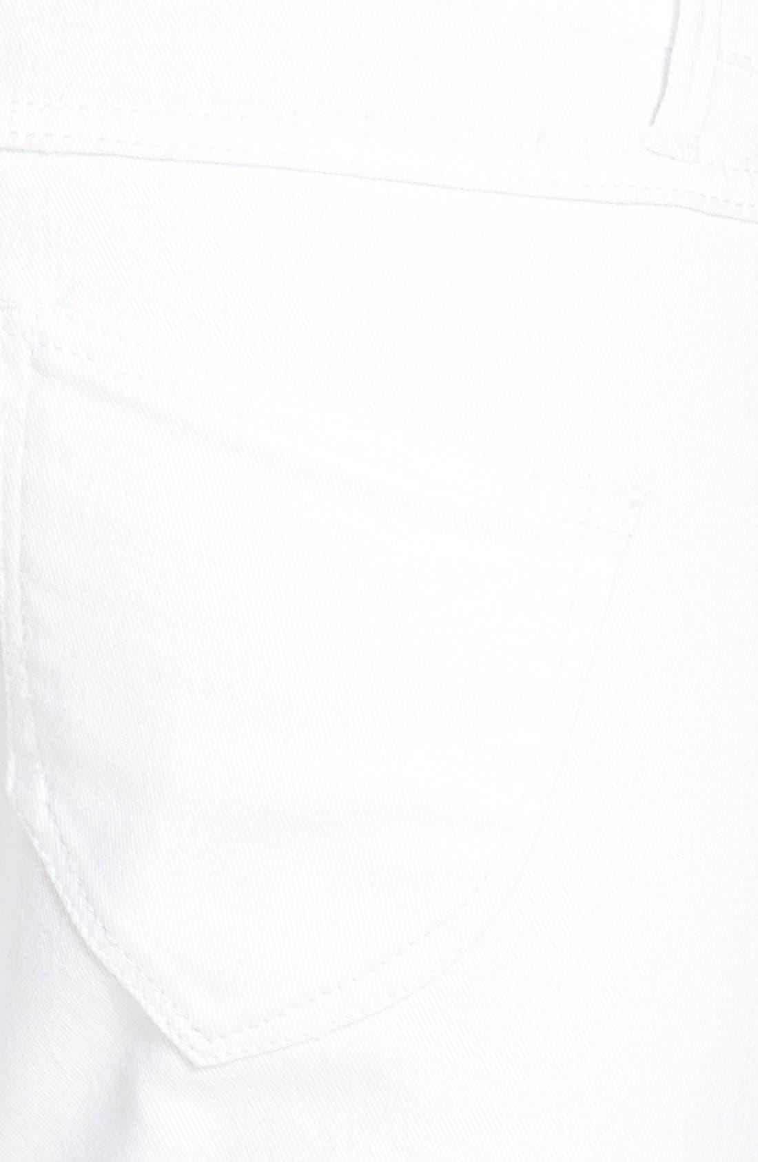 Frayed Skinny Jeans,                             Alternate thumbnail 2, color,                             100