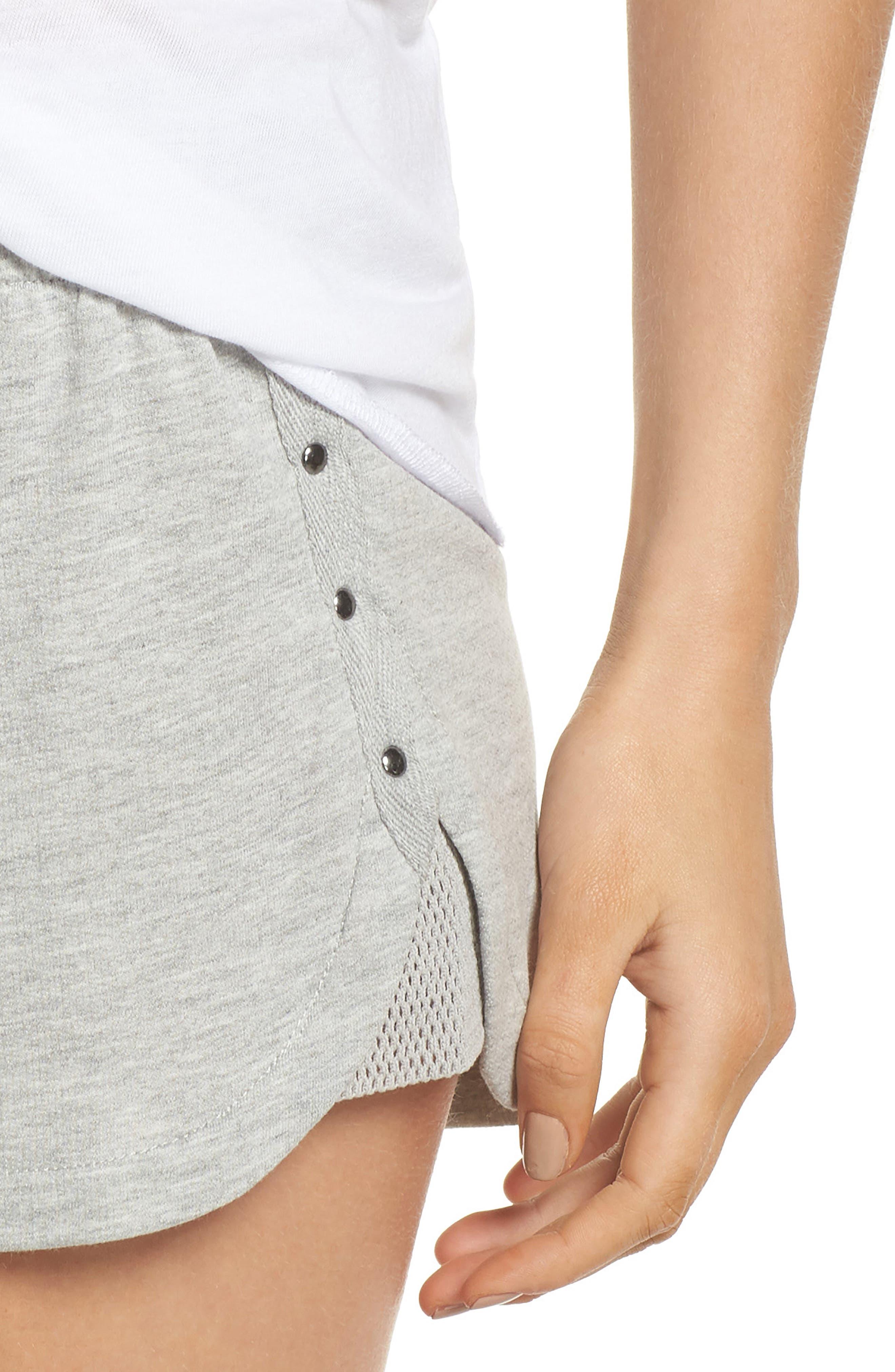 Pajama Shorts,                             Alternate thumbnail 4, color,                             020