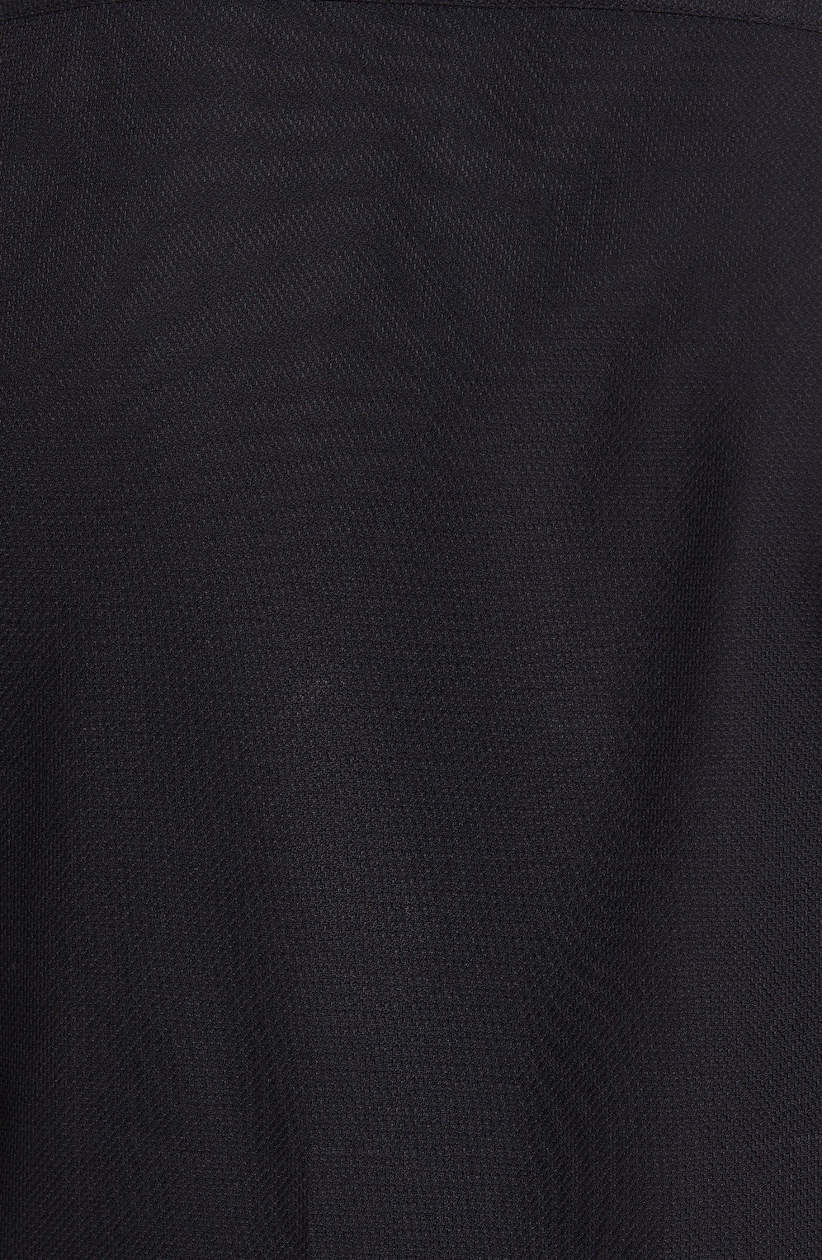 Nordlux Modern Slim Fit Stretch Cotton Sport Shirt,                             Alternate thumbnail 5, color,                             001
