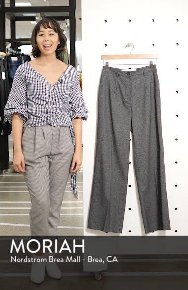 Menswear Wide Leg Trousers, sales video thumbnail