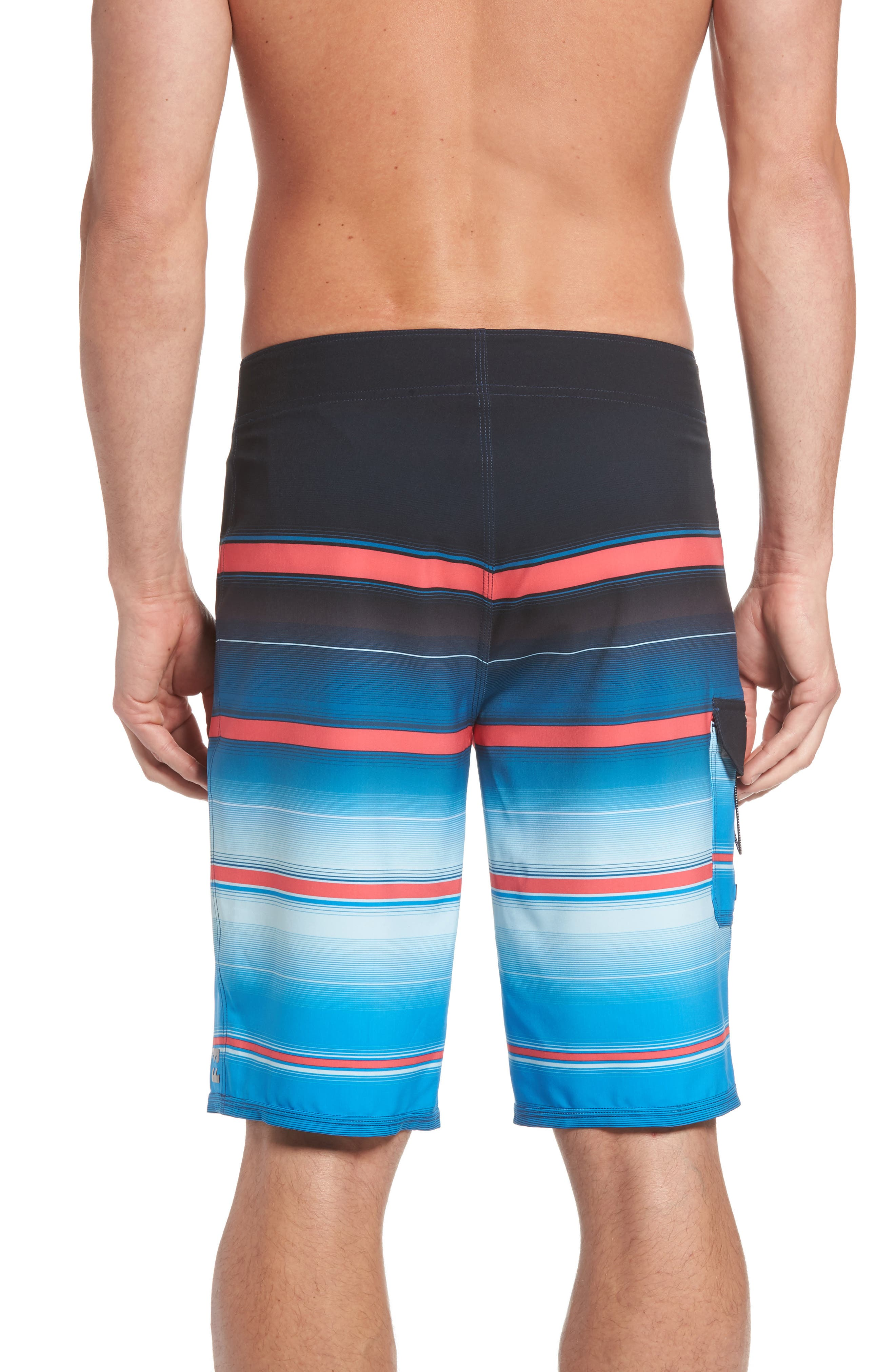 All Day X Stripe Board Shorts,                             Alternate thumbnail 8, color,