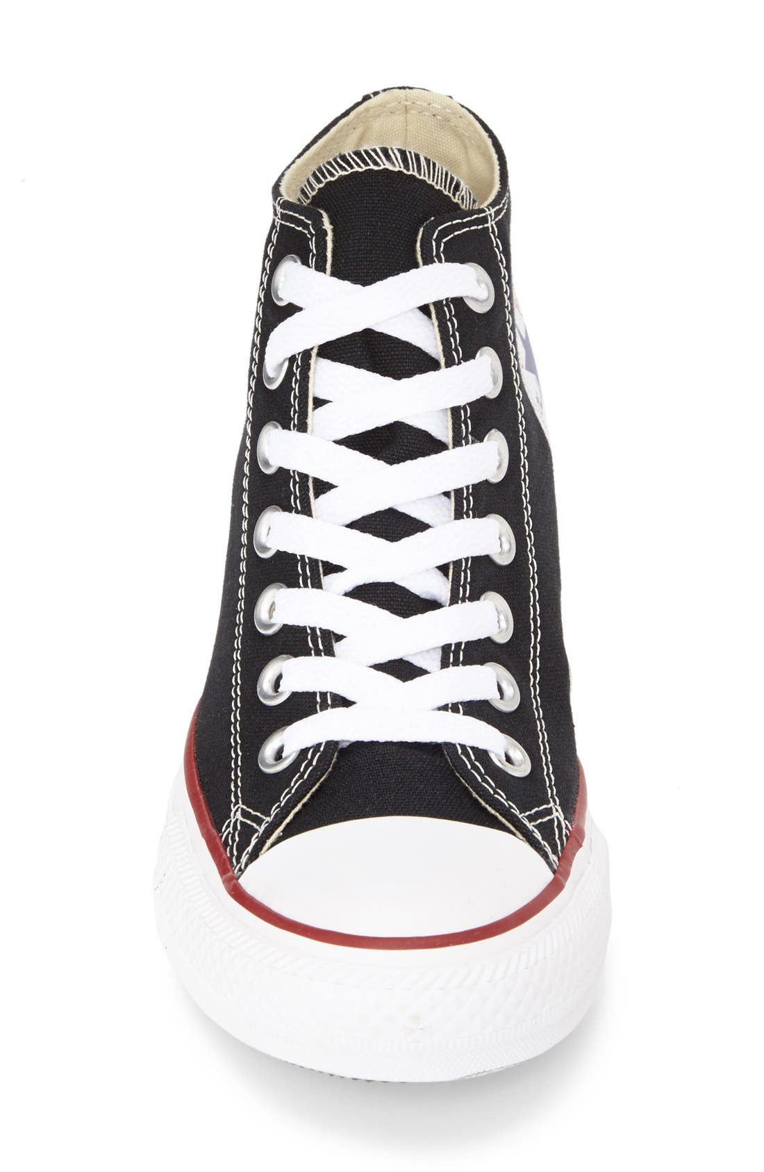 CONVERSE,                             Chuck Taylor<sup>®</sup> 'Lux Corel' High Top Sneaker,                             Alternate thumbnail 3, color,                             001