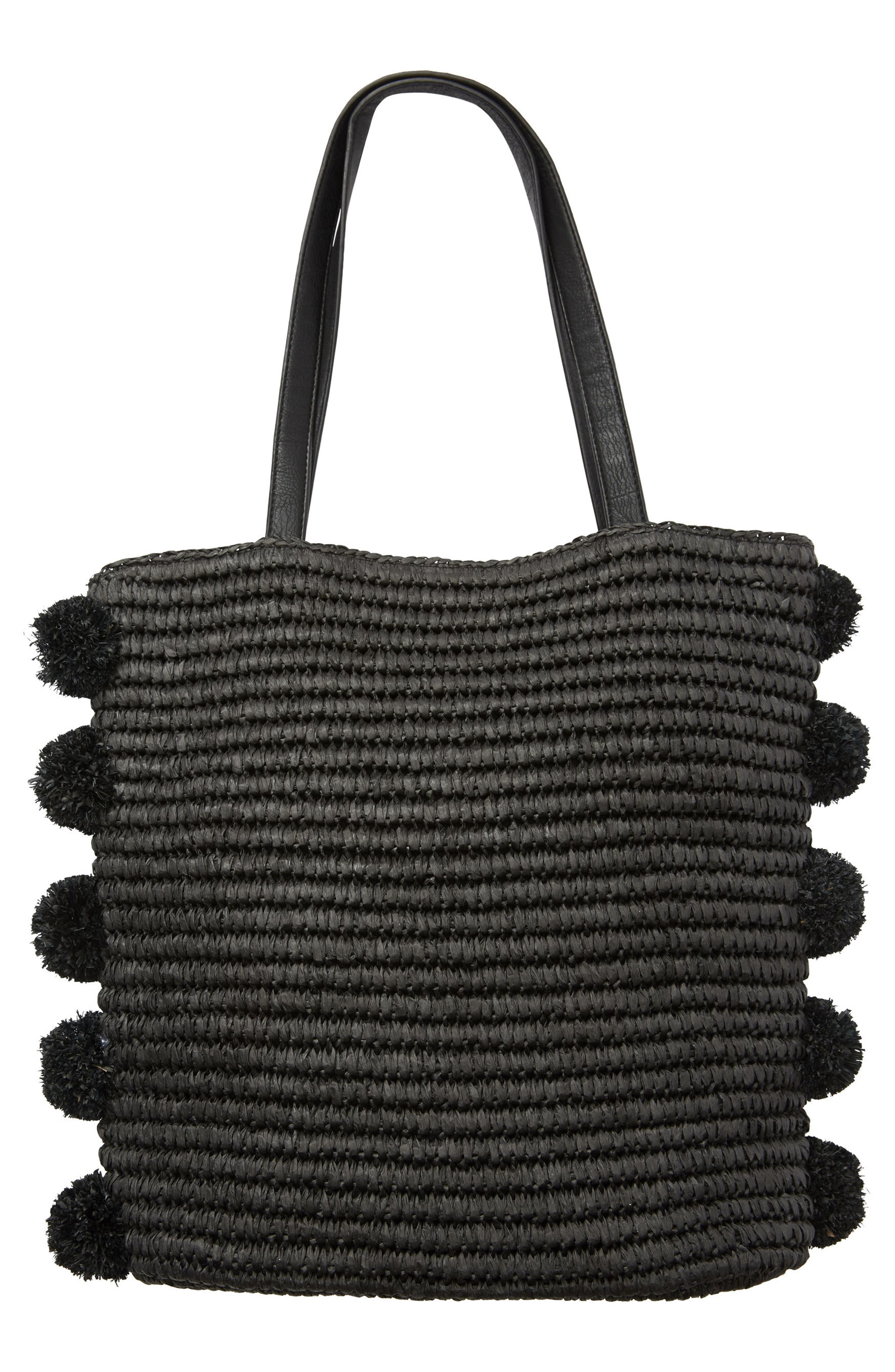 Palms Up Woven Bag,                             Alternate thumbnail 2, color,