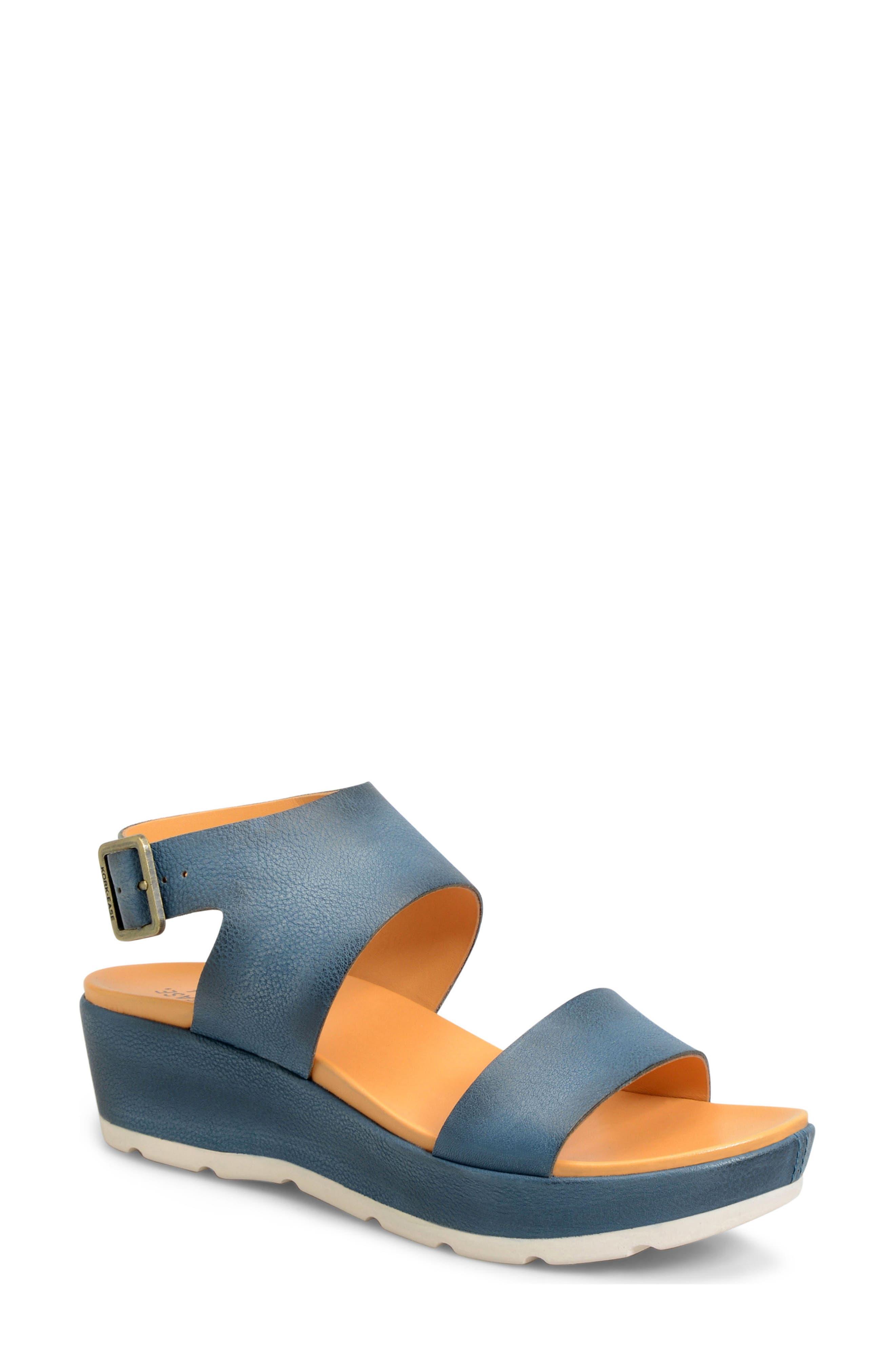 'Khloe' Platform Wedge Sandal,                             Main thumbnail 5, color,