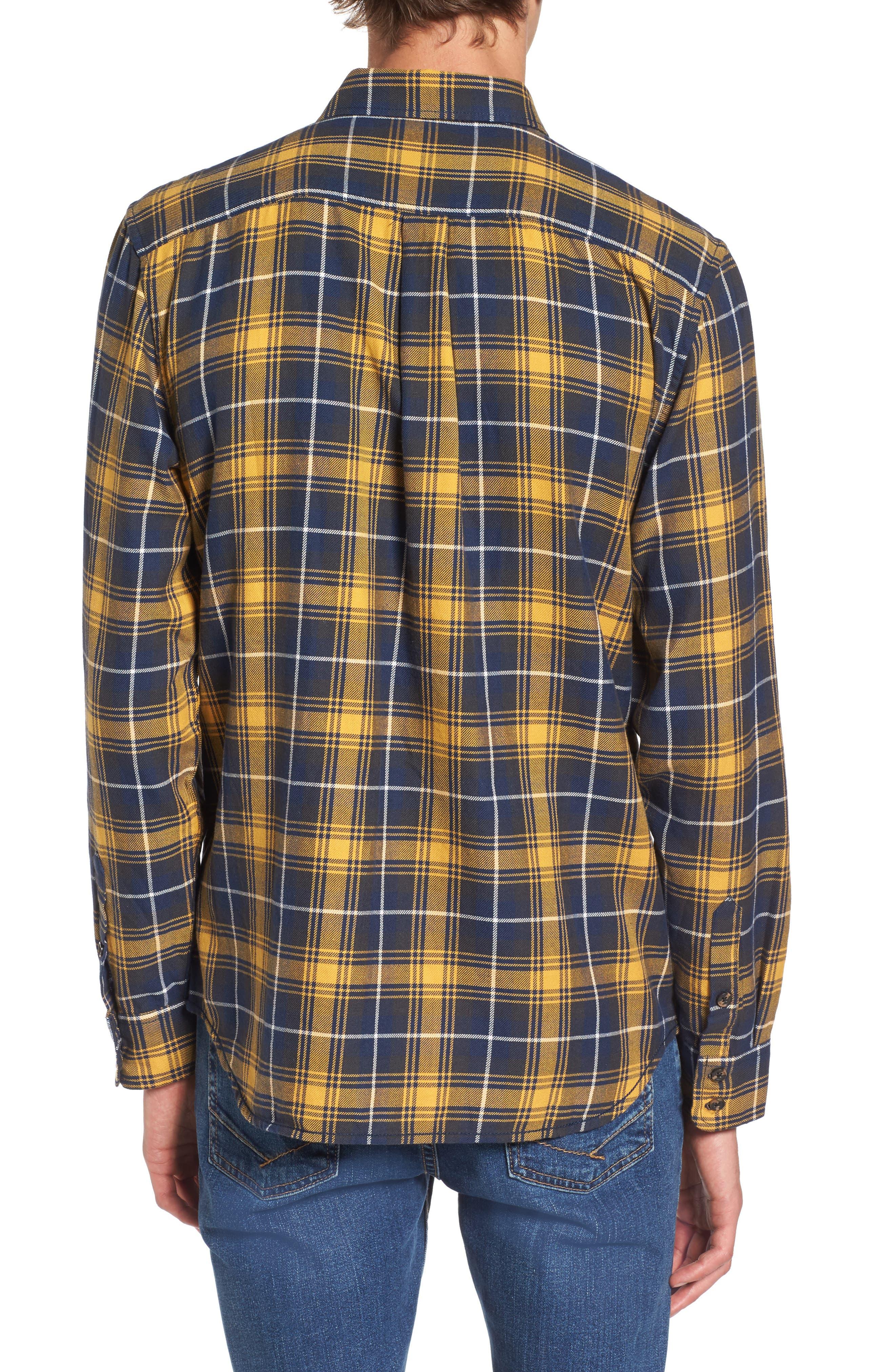 Sycamore Plaid Flannel Sport Shirt,                             Alternate thumbnail 2, color,                             720