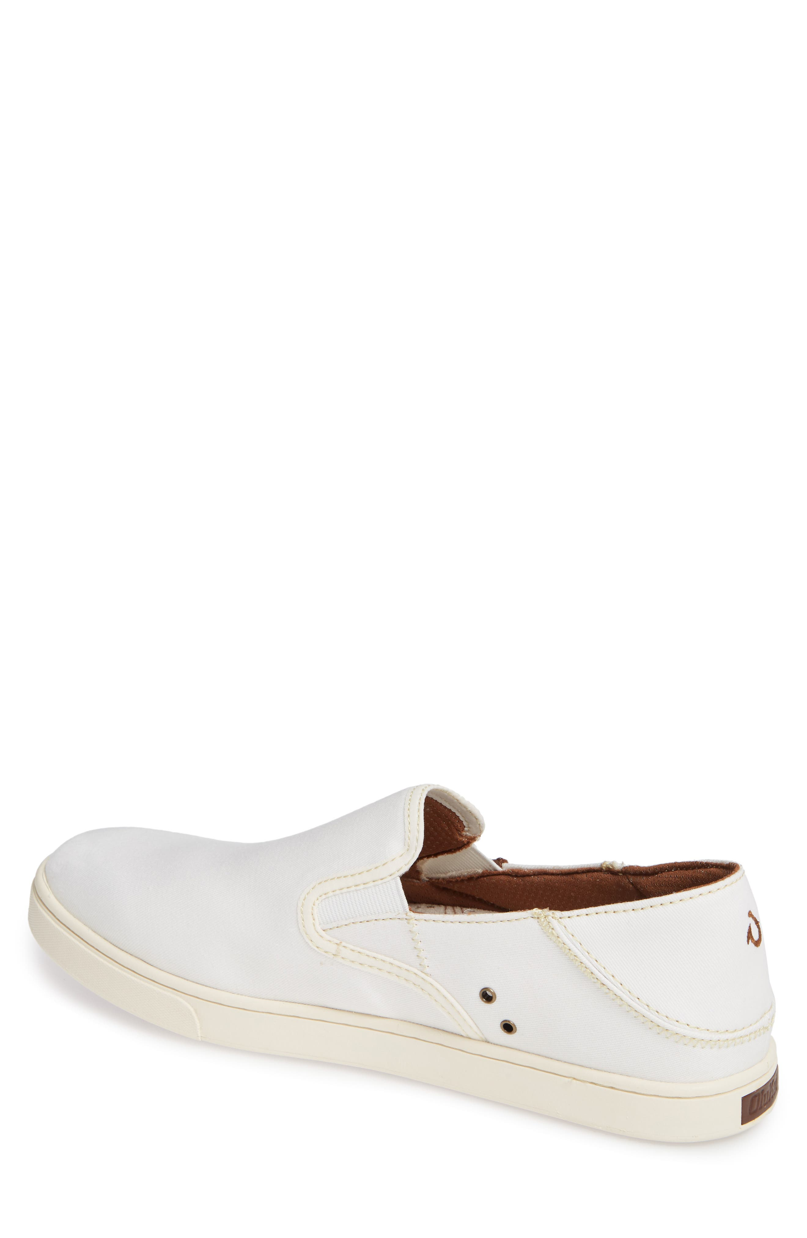 Kahu Collapsible Slip-On Sneaker,                             Alternate thumbnail 2, color,                             OFF WHITE/ OFF WHITE TEXTILE