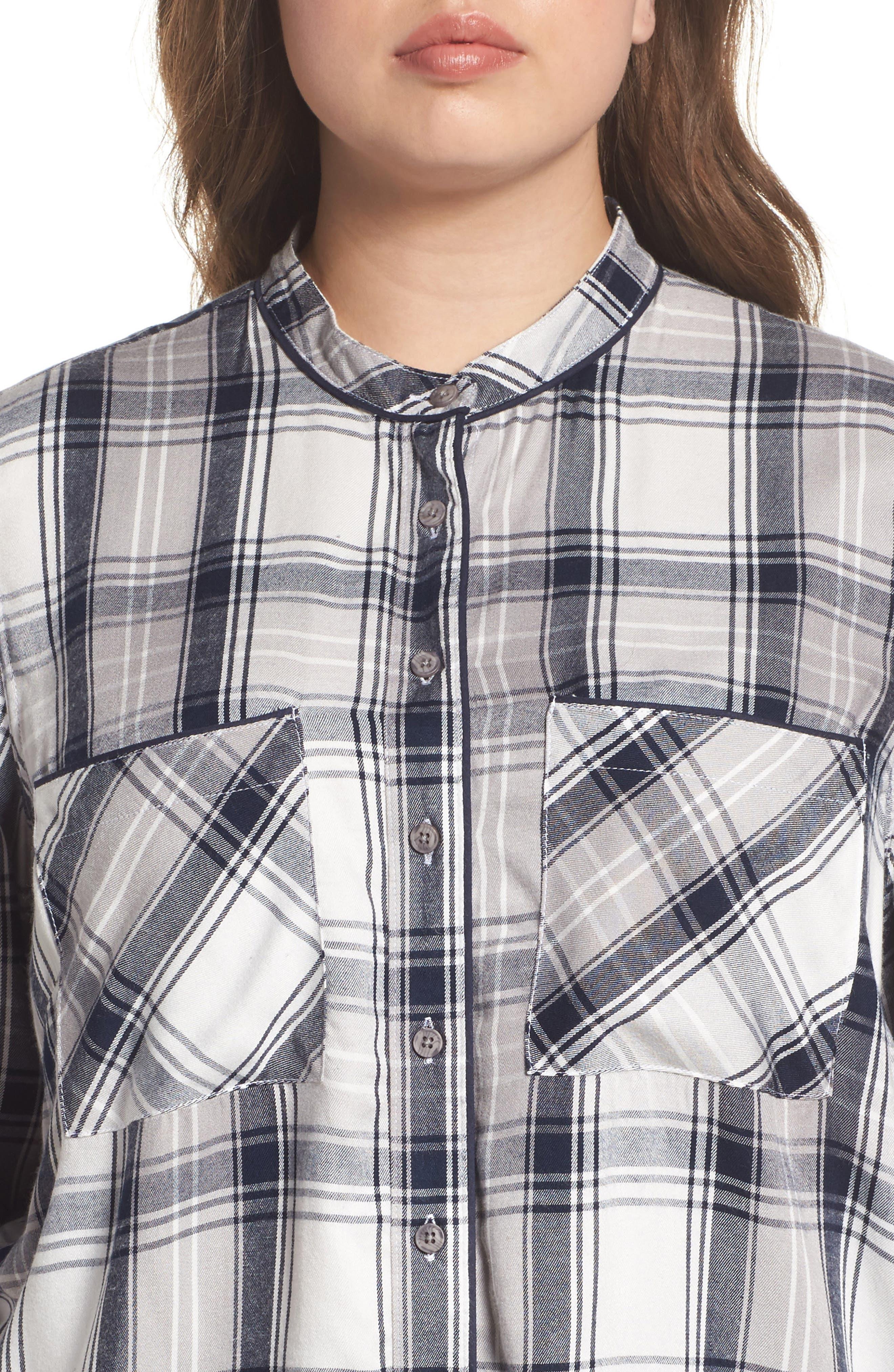 Plaid Shirt,                             Alternate thumbnail 4, color,                             107