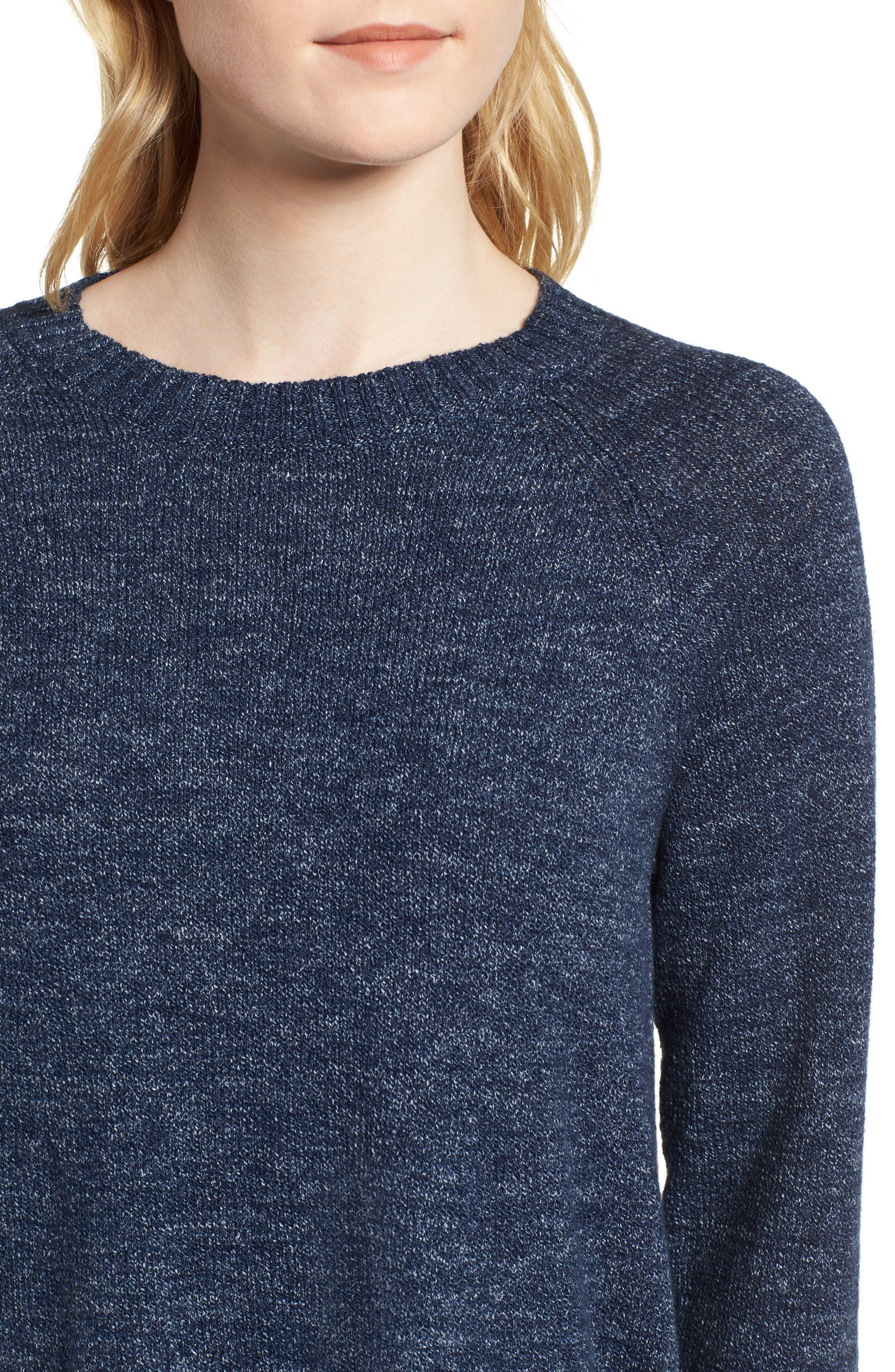 Organic Cotton Sweater,                             Alternate thumbnail 4, color,                             480
