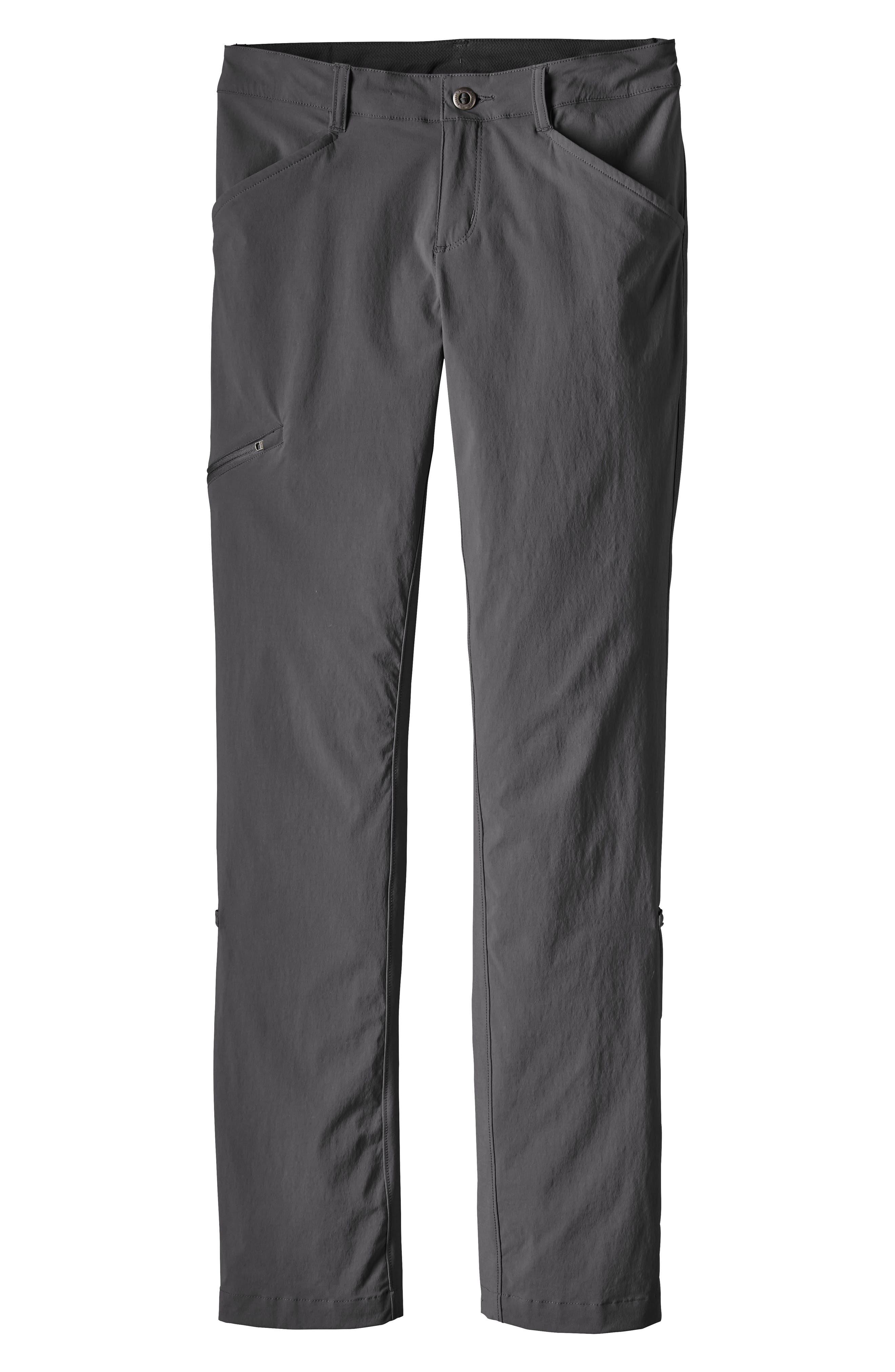 Patagonia Quandary Convertible Pants, Grey