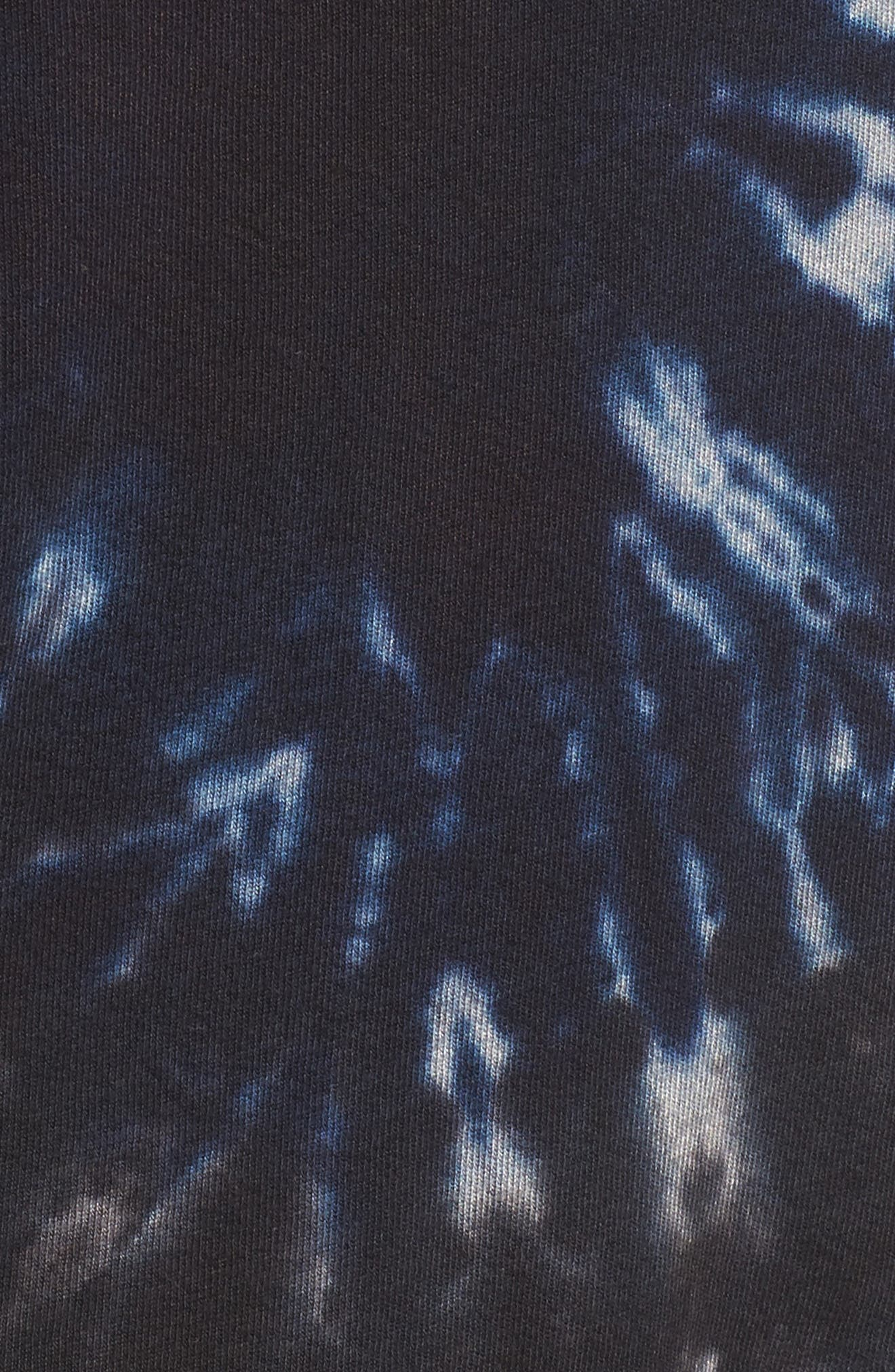 Nic Distressed Sweatshirt,                             Alternate thumbnail 5, color,                             010