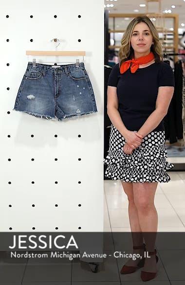 Ripped Boyfriend Shorts, sales video thumbnail
