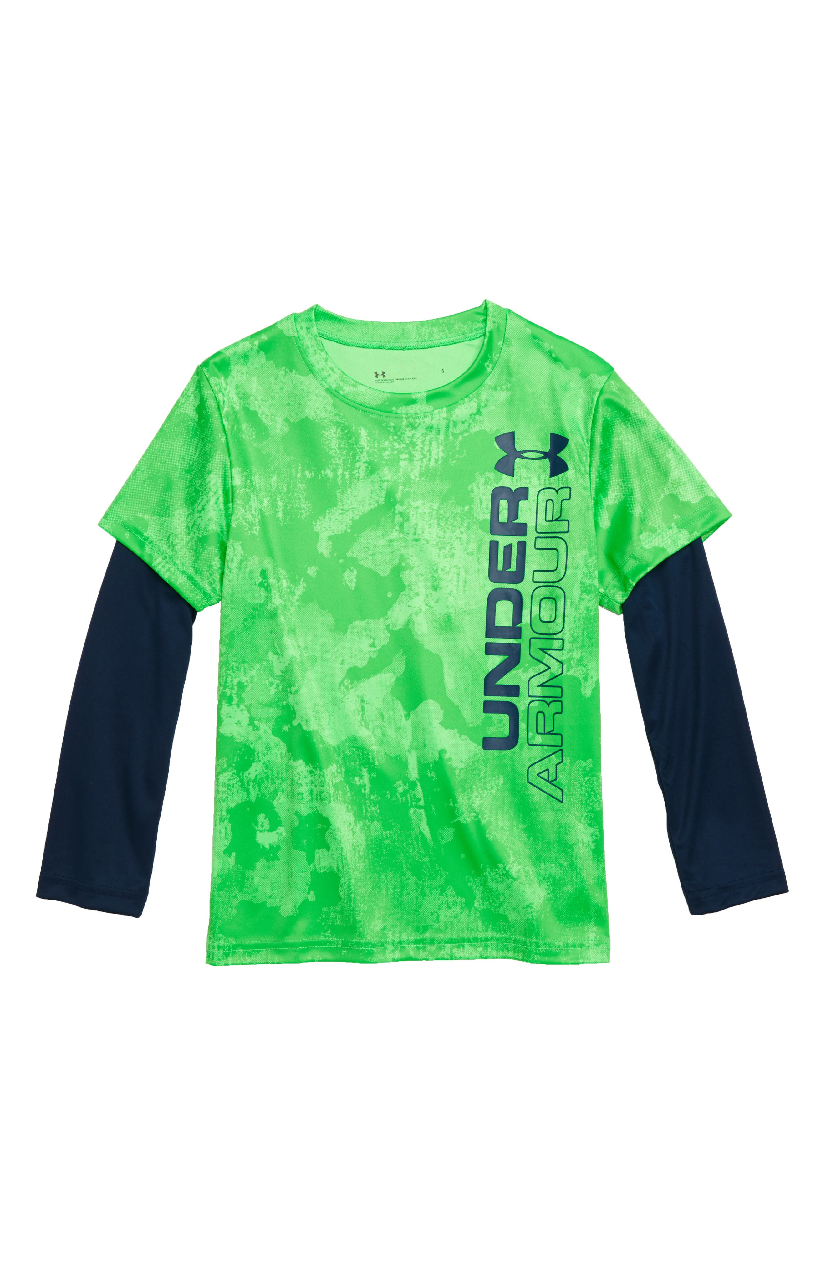 Boys Under Armour Stacked Layered Shirt