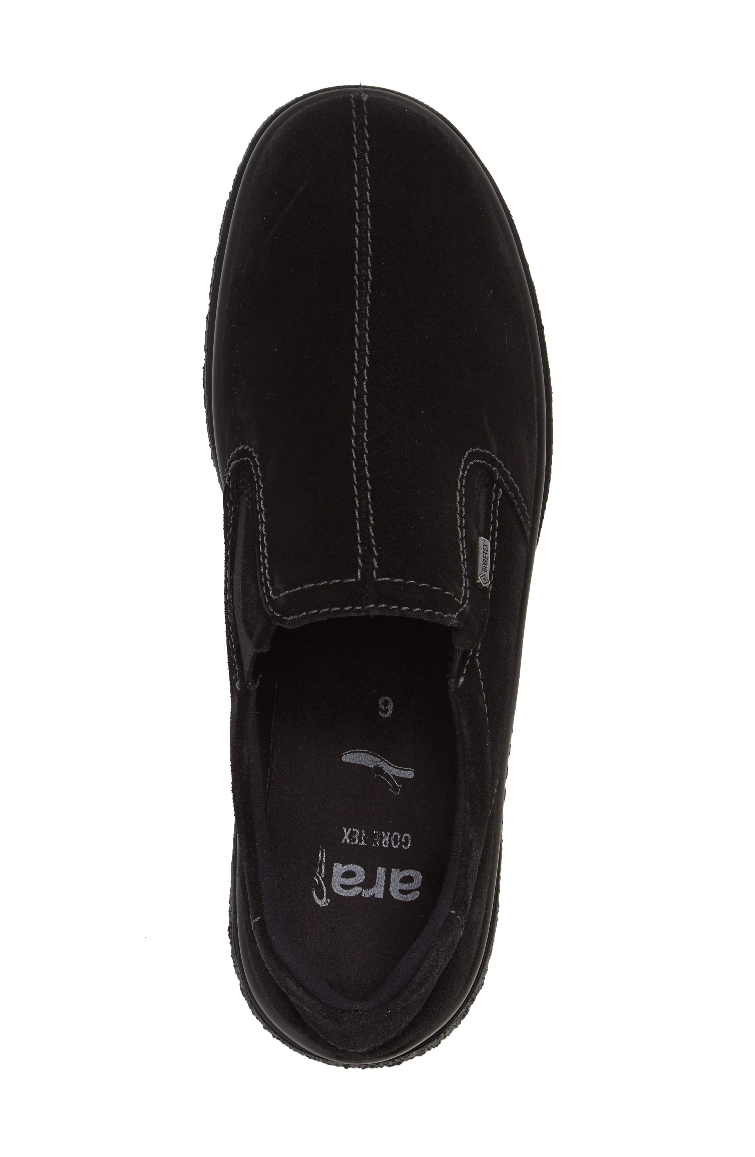 Parson Waterproof Gore-Tex<sup>®</sup> Slip-On Sneaker,                             Alternate thumbnail 3, color,                             001