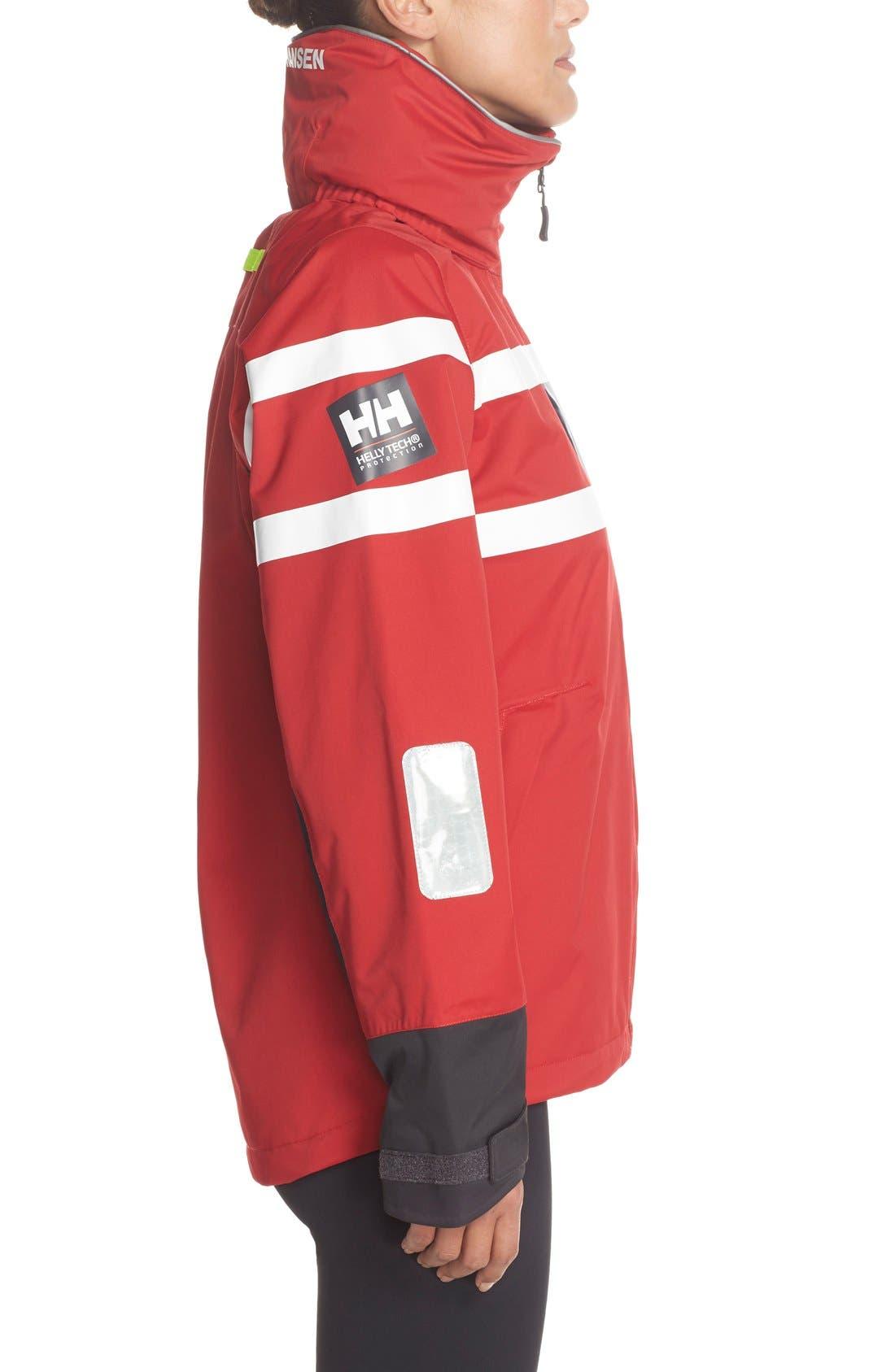 'Salt Power' Waterproof Jacket,                             Alternate thumbnail 4, color,                             600