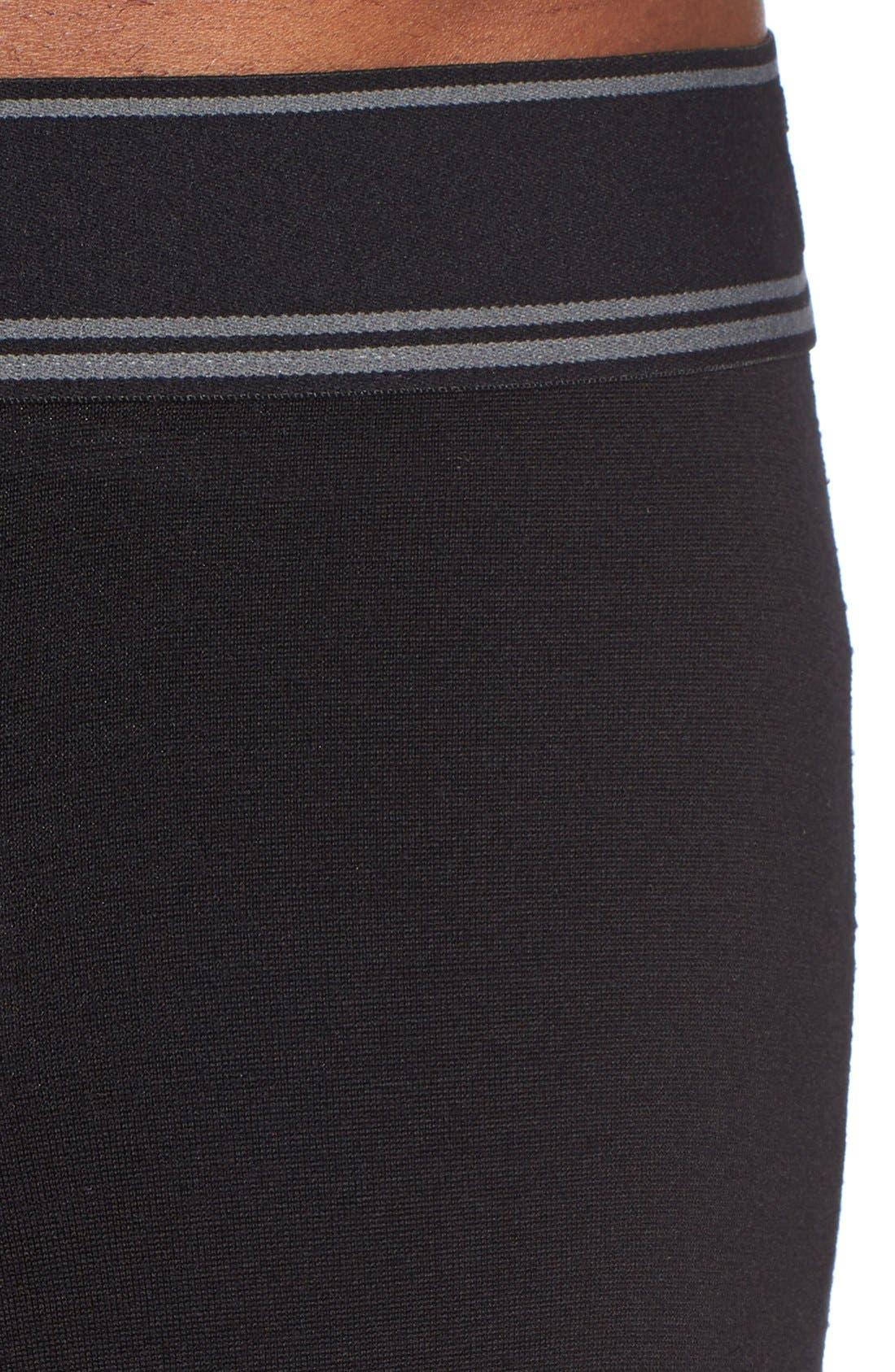 SAXX,                             'Black Sheep' Moisture Wicking Long Underwear,                             Alternate thumbnail 4, color,                             019