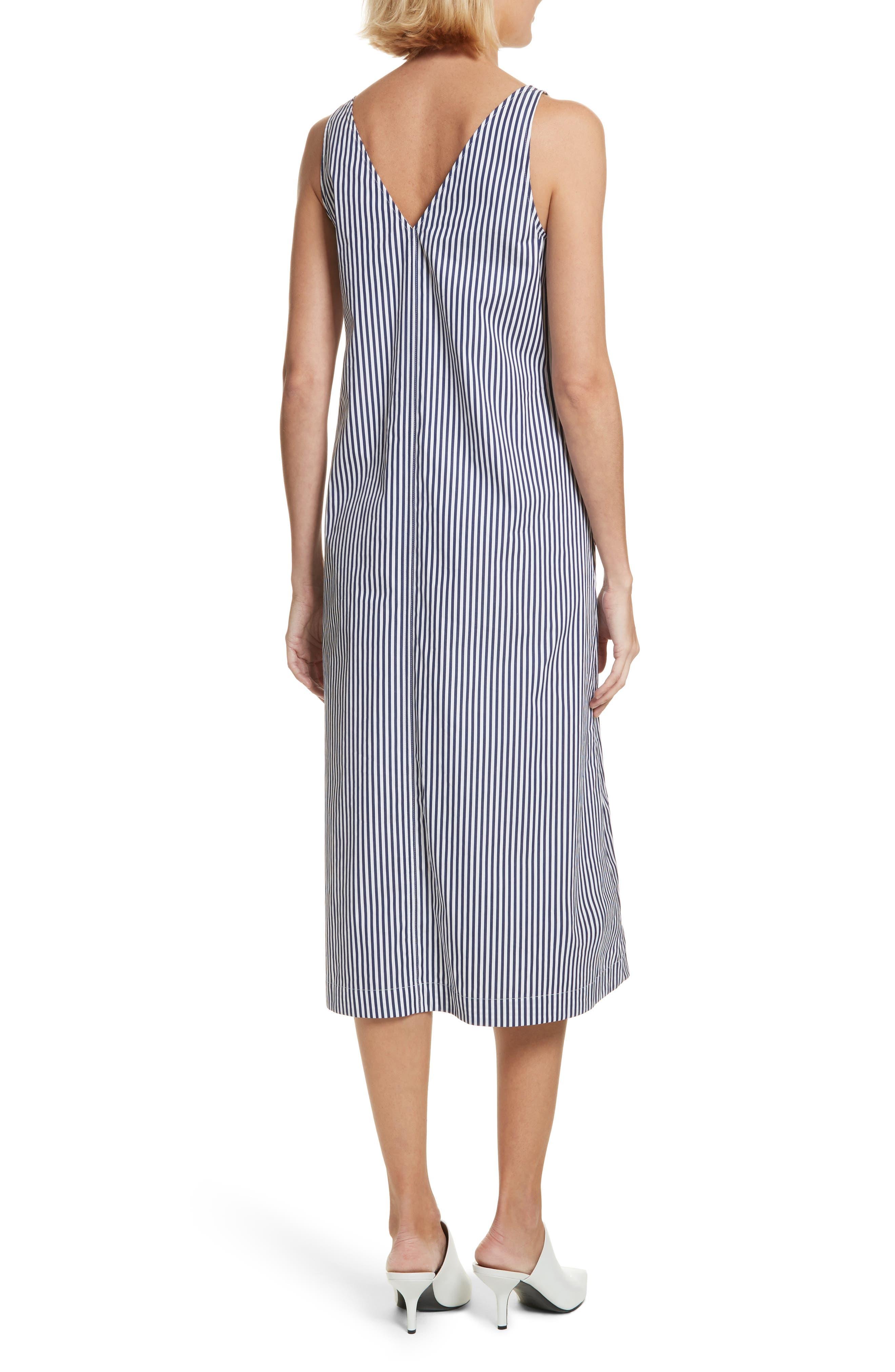 Davey Candy Stripe Shift Dress,                             Alternate thumbnail 2, color,                             456