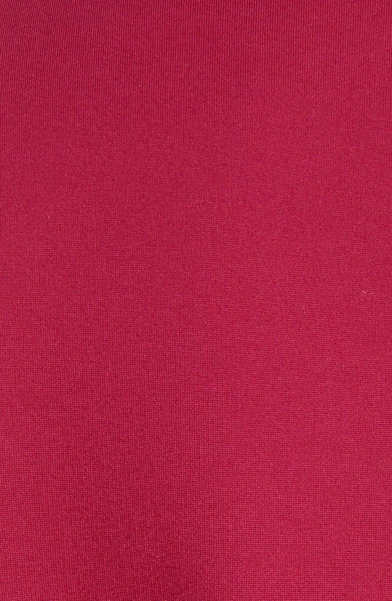 Shealah Embroidered Trim A-Line Dress,                             Alternate thumbnail 5, color,                             651