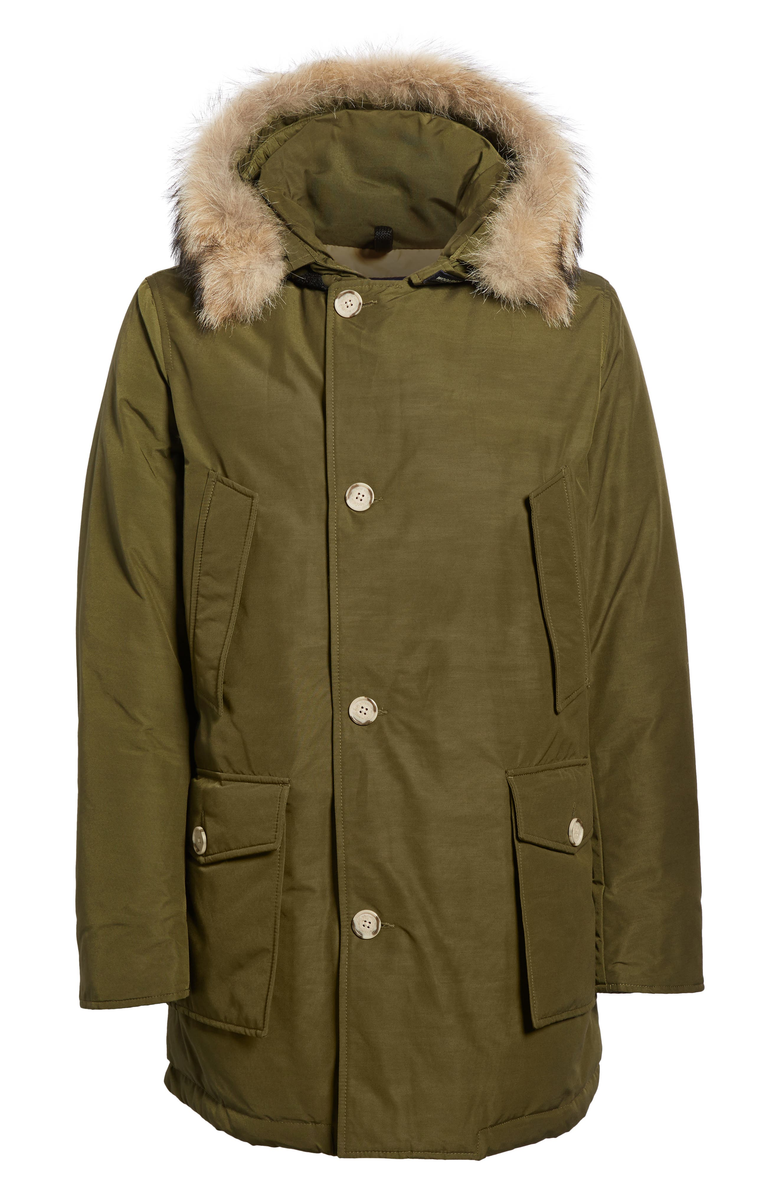 John Rich & Bros. Arctic Parka with Genuine Coyote Fur Trim,                             Alternate thumbnail 30, color,