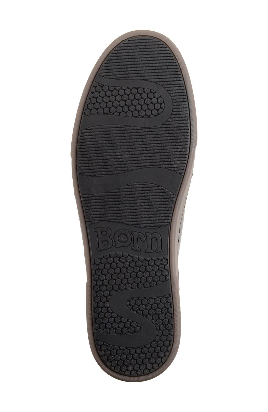 'Bayne' Cap Toe Sneaker,                             Alternate thumbnail 4, color,                             001
